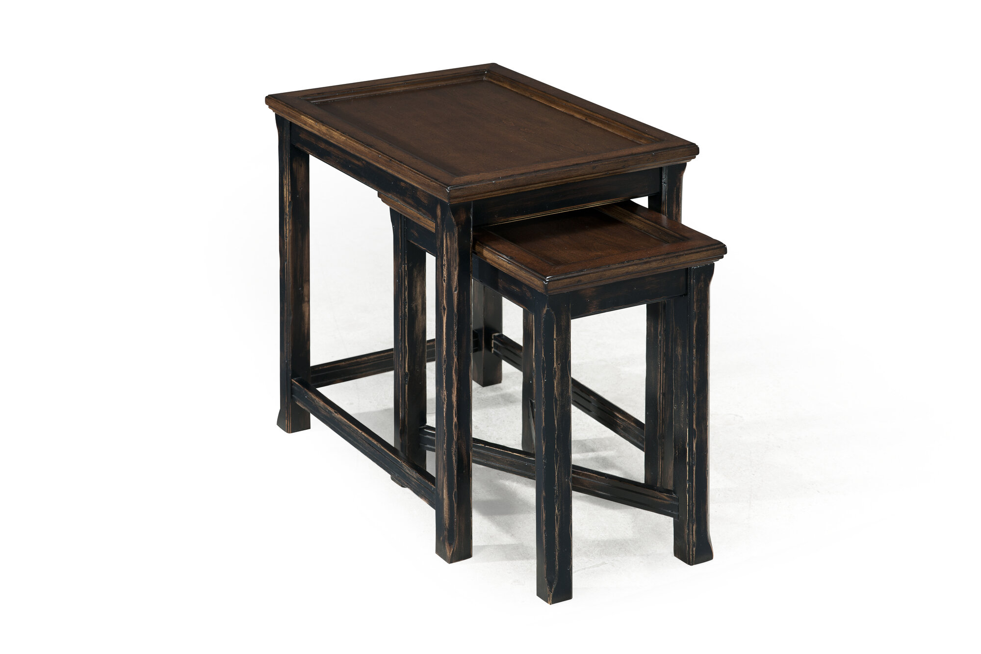 Amazing photo of Magnussen Furniture Clanton 2 Piece Nesting Tables eBay with #5E4938 color and 2000x1333 pixels