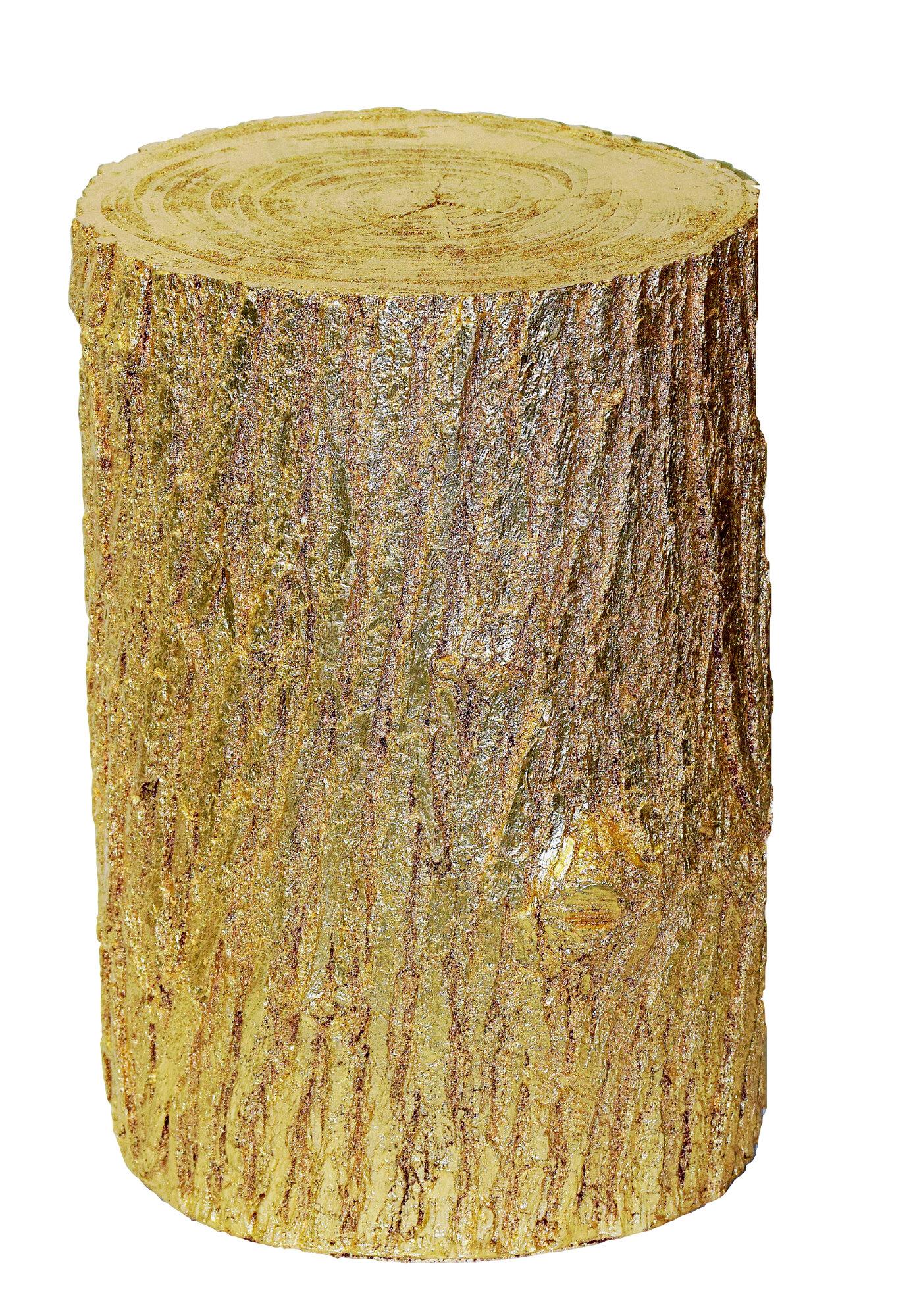 hickory manor house tree stump end table ebay. Black Bedroom Furniture Sets. Home Design Ideas