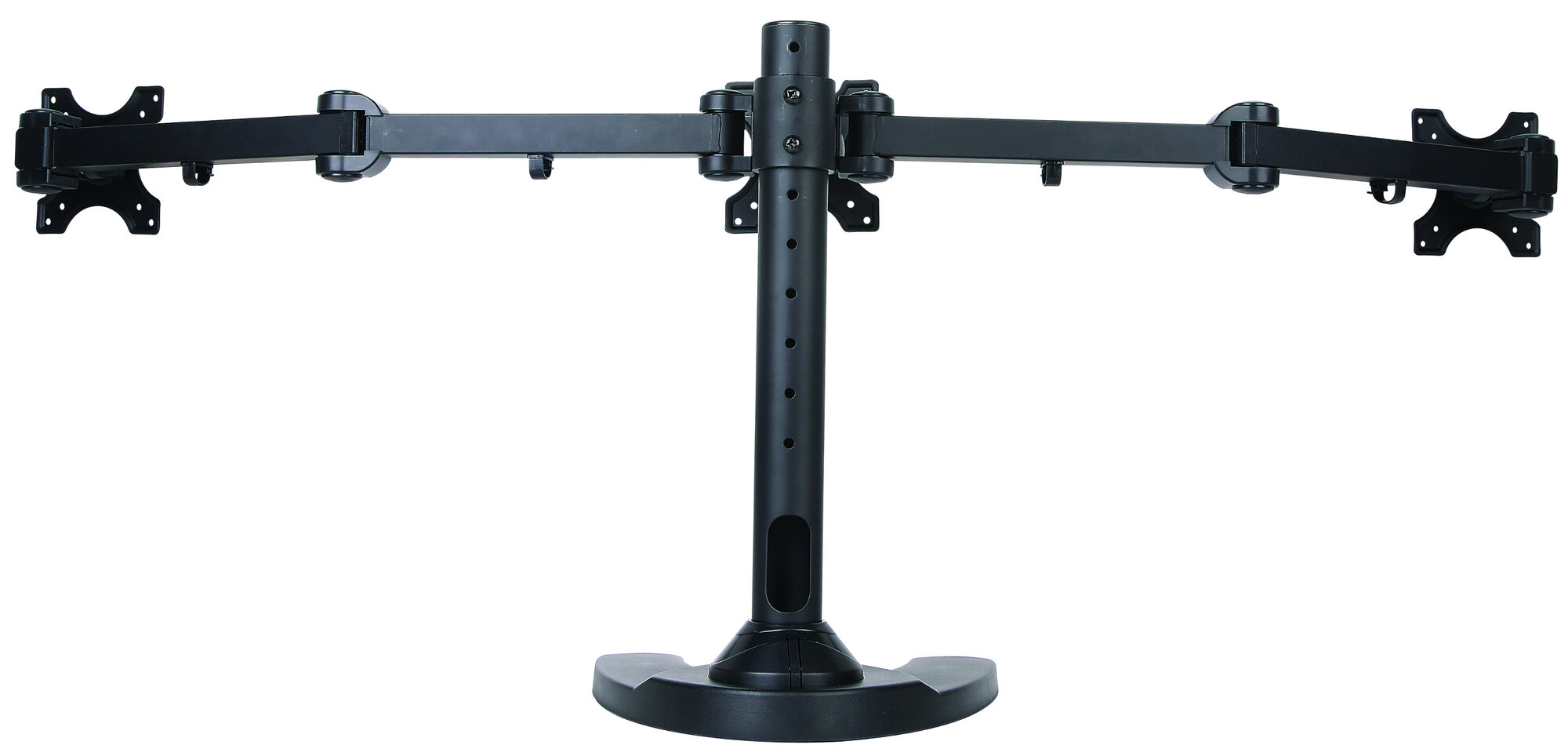vivo triple lcd monitor height adjustable 3 screen desk mount stand ebay. Black Bedroom Furniture Sets. Home Design Ideas