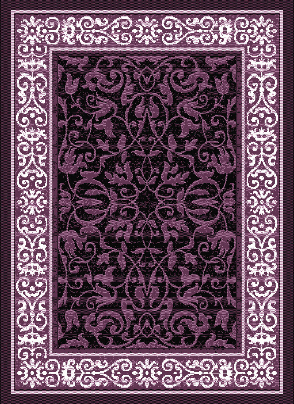 United Weavers Of America Dallas Baroness Plum Area Rug Ebay
