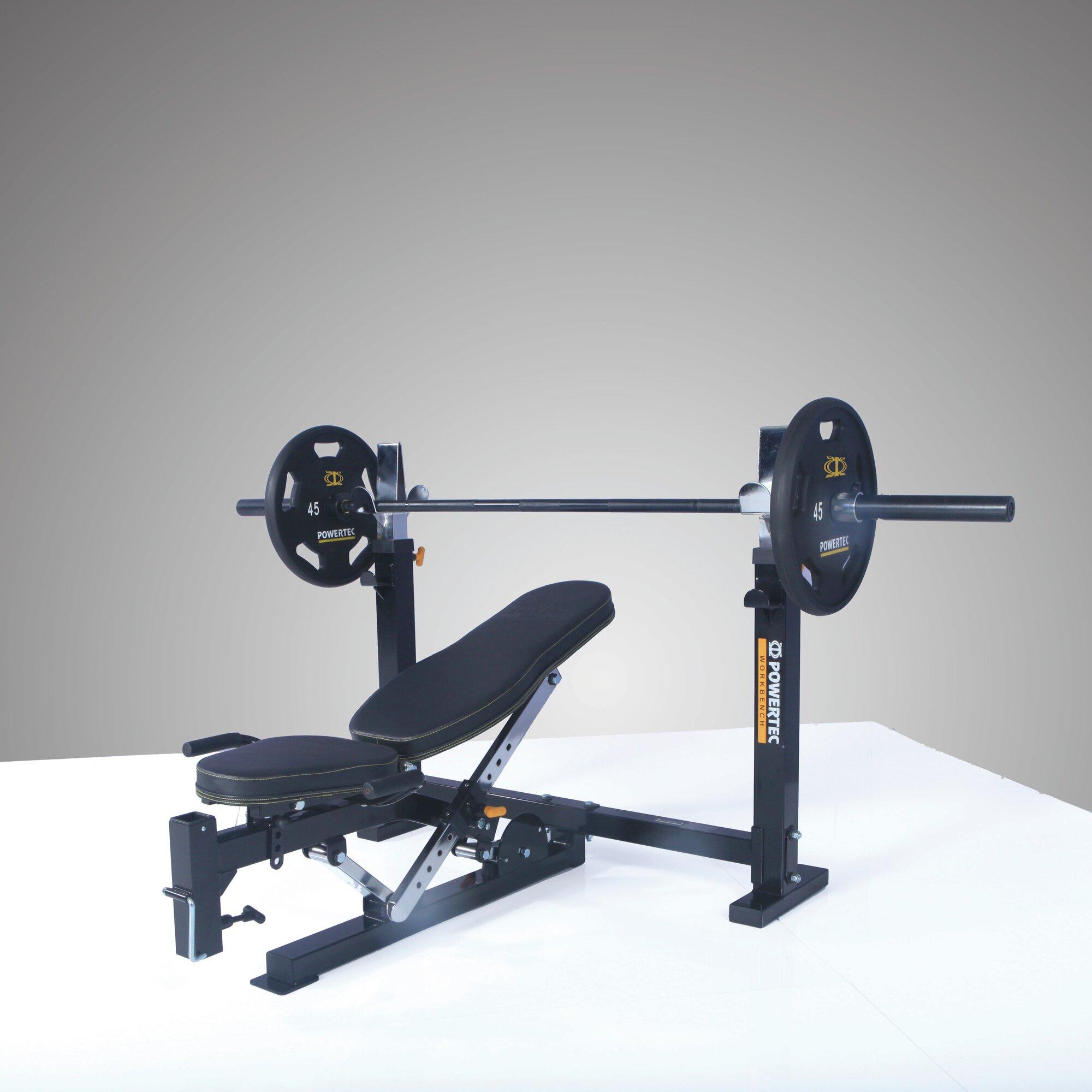 Powertec Workbench Olympic Bench Ebay
