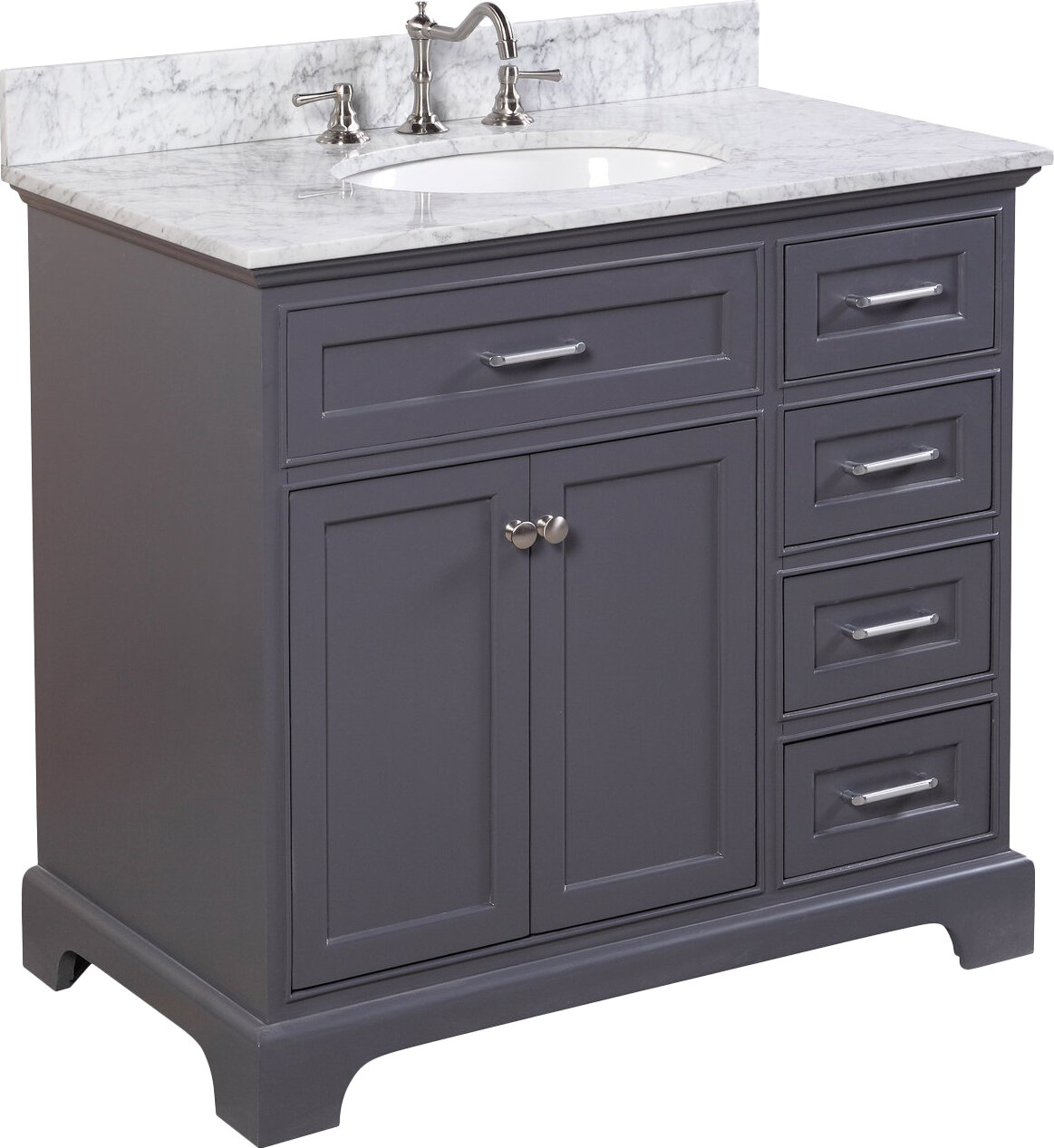 kitchen bath collection aria 36 quot single vanity set ebay kitchen bath collection katherine 60 quot single bathroom