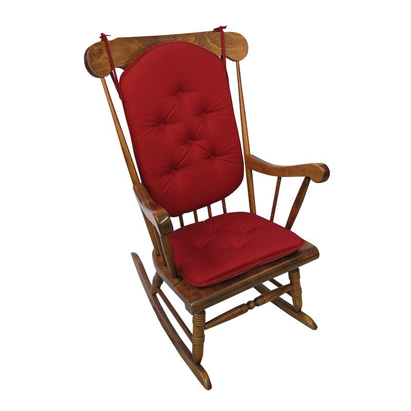 Rocking Chair Pads ~ Klear vu twill rocking chair cushion ebay