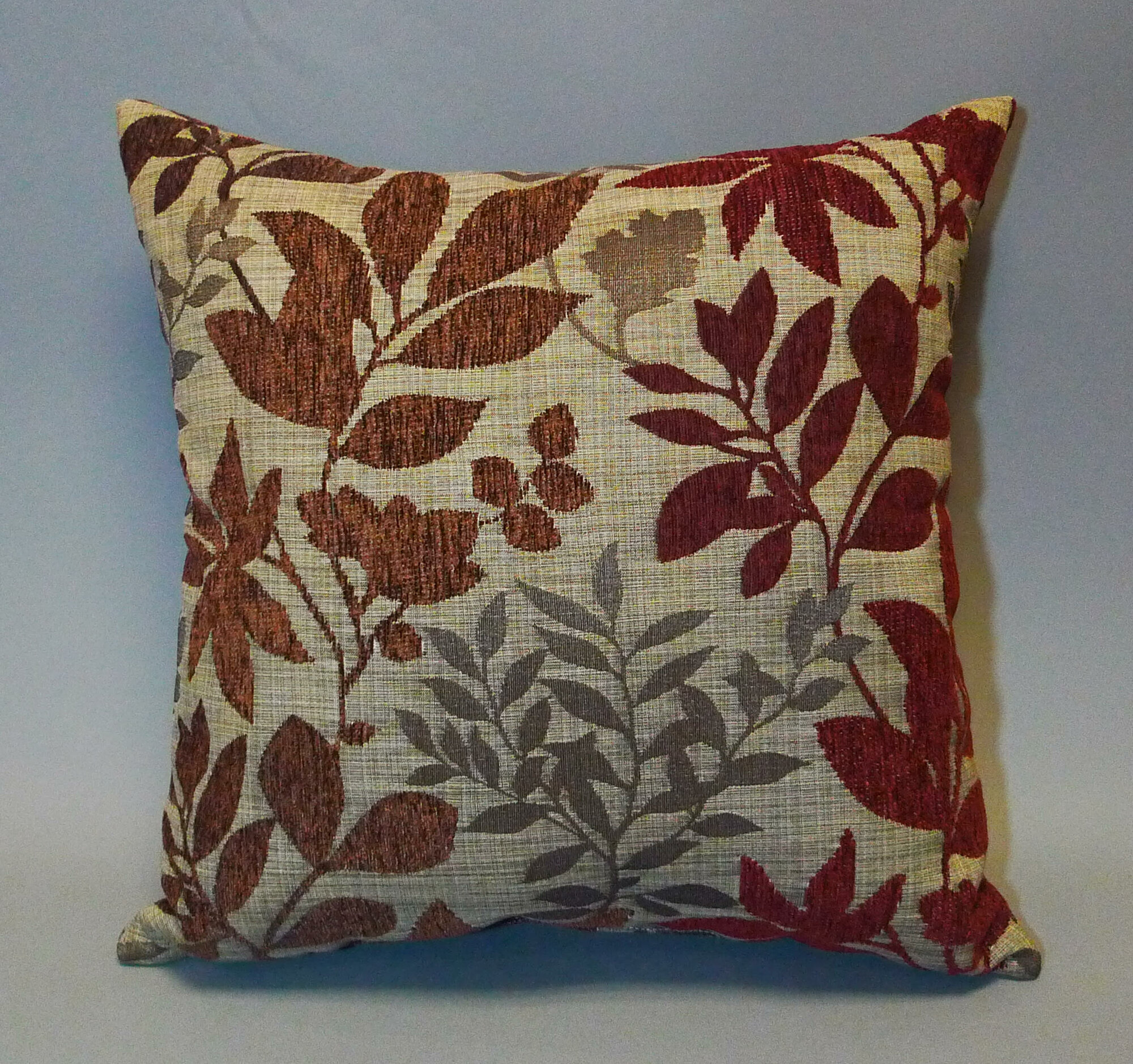 Essential Bristol Chenille Jacquard Leaf Polyester Throw Pillow Set of 2 eBay