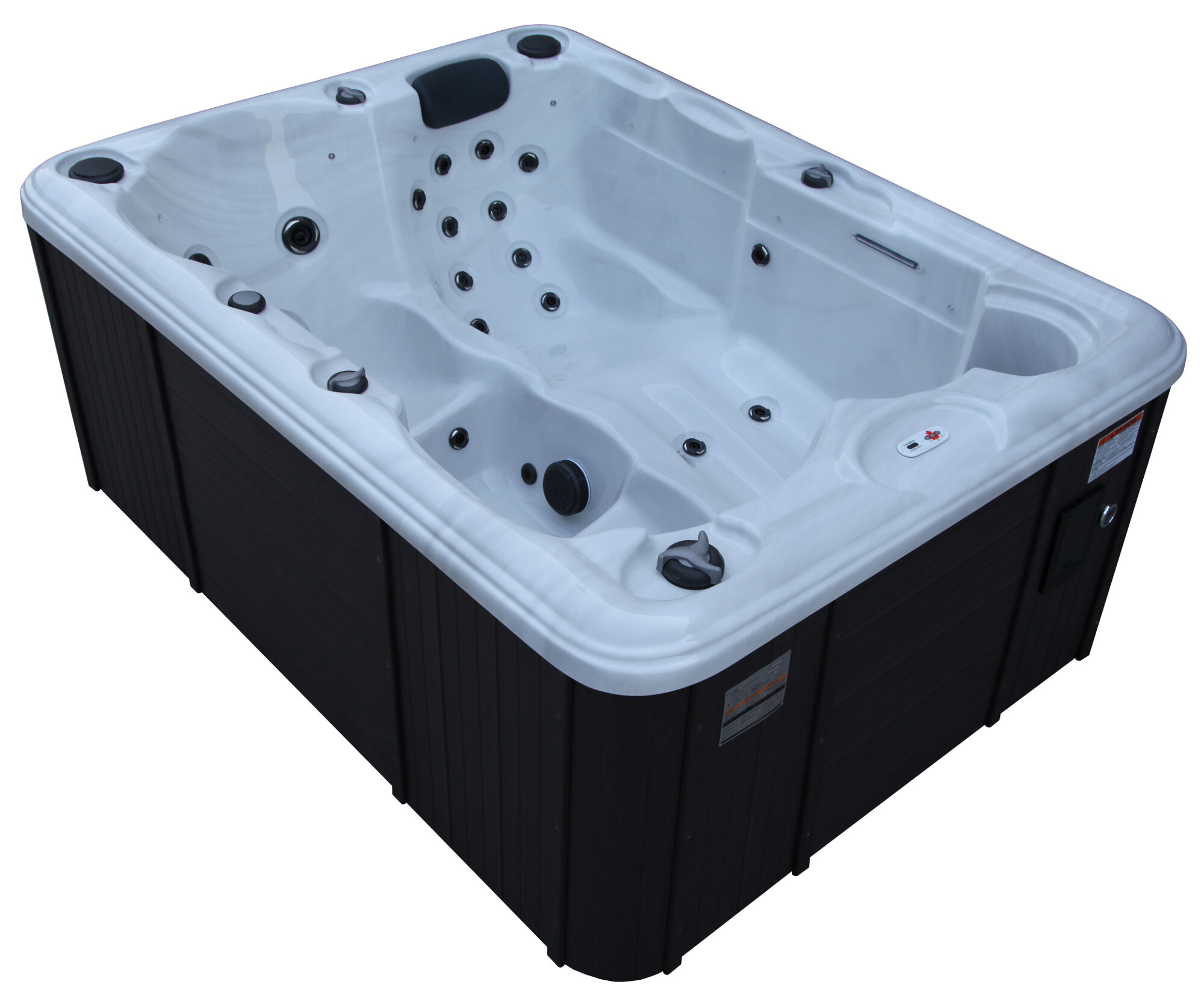 Details about canadian spa co quebec 4 person plug and play spa