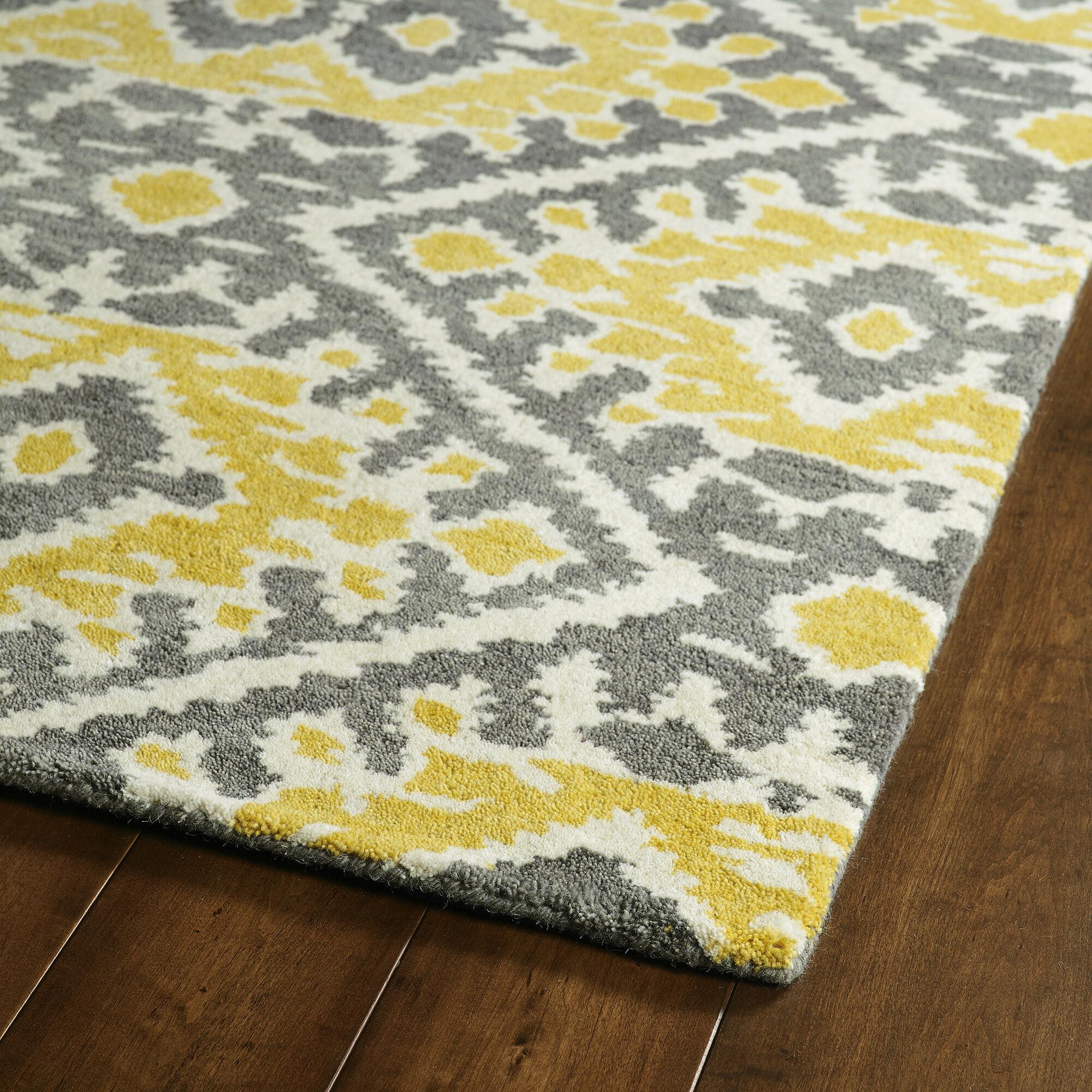 Kaleen Global Inspirations Yellow Area Rug Ebay