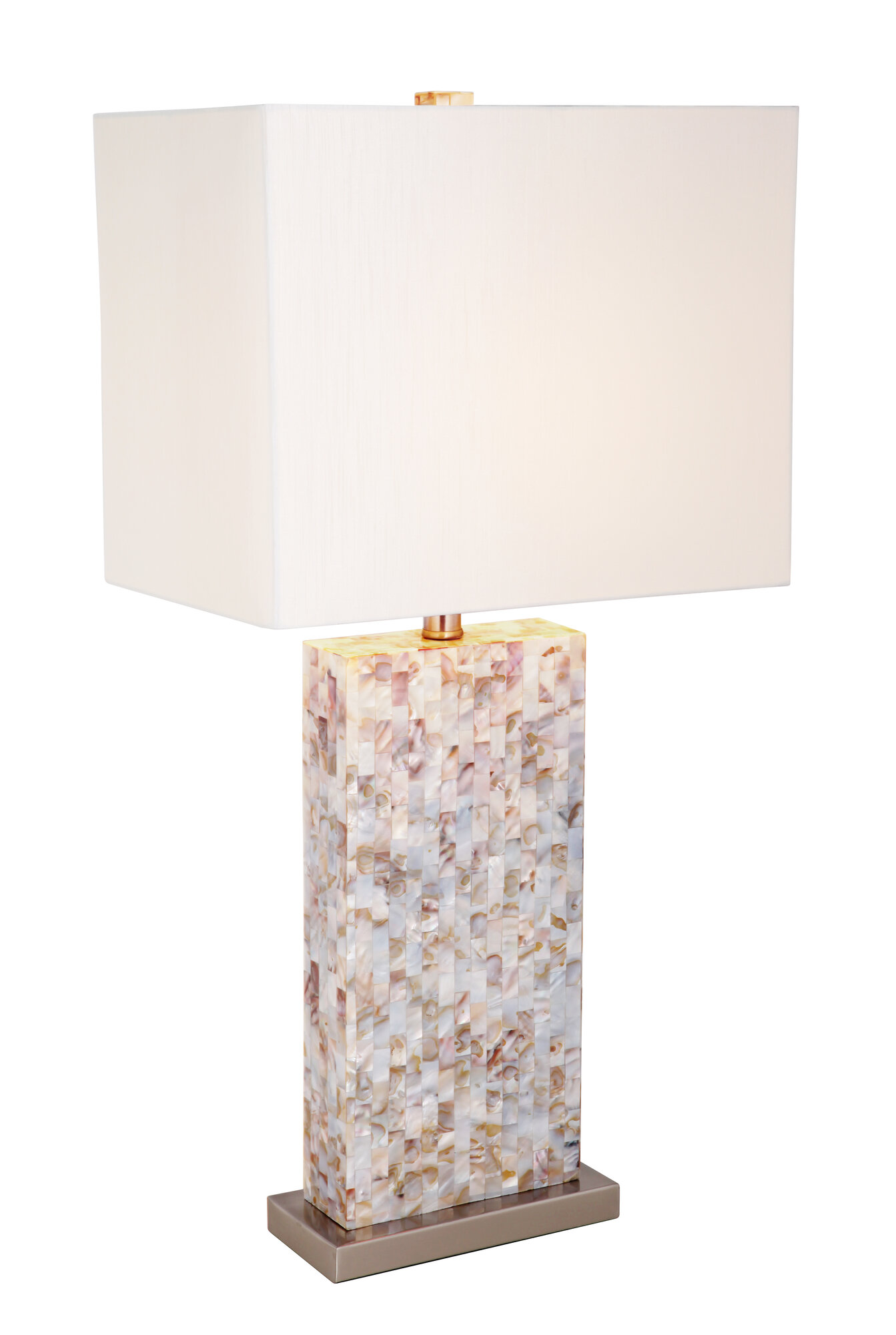mariana home 30 5 table lamp with rectangular shade ebay. Black Bedroom Furniture Sets. Home Design Ideas