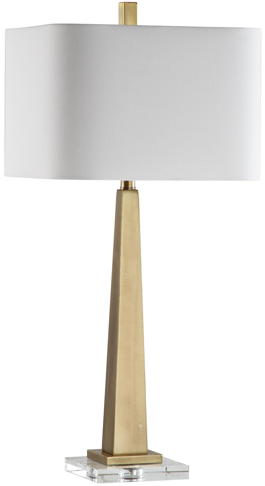about mariana home modern 32 table lamp with rectangular shade. Black Bedroom Furniture Sets. Home Design Ideas