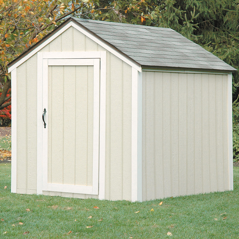 2x4 Basics Peak Roof Shed Kit Ebay