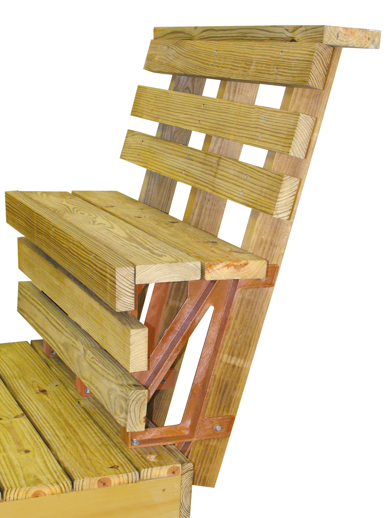 2x4 Basics Deck Bench Bracket