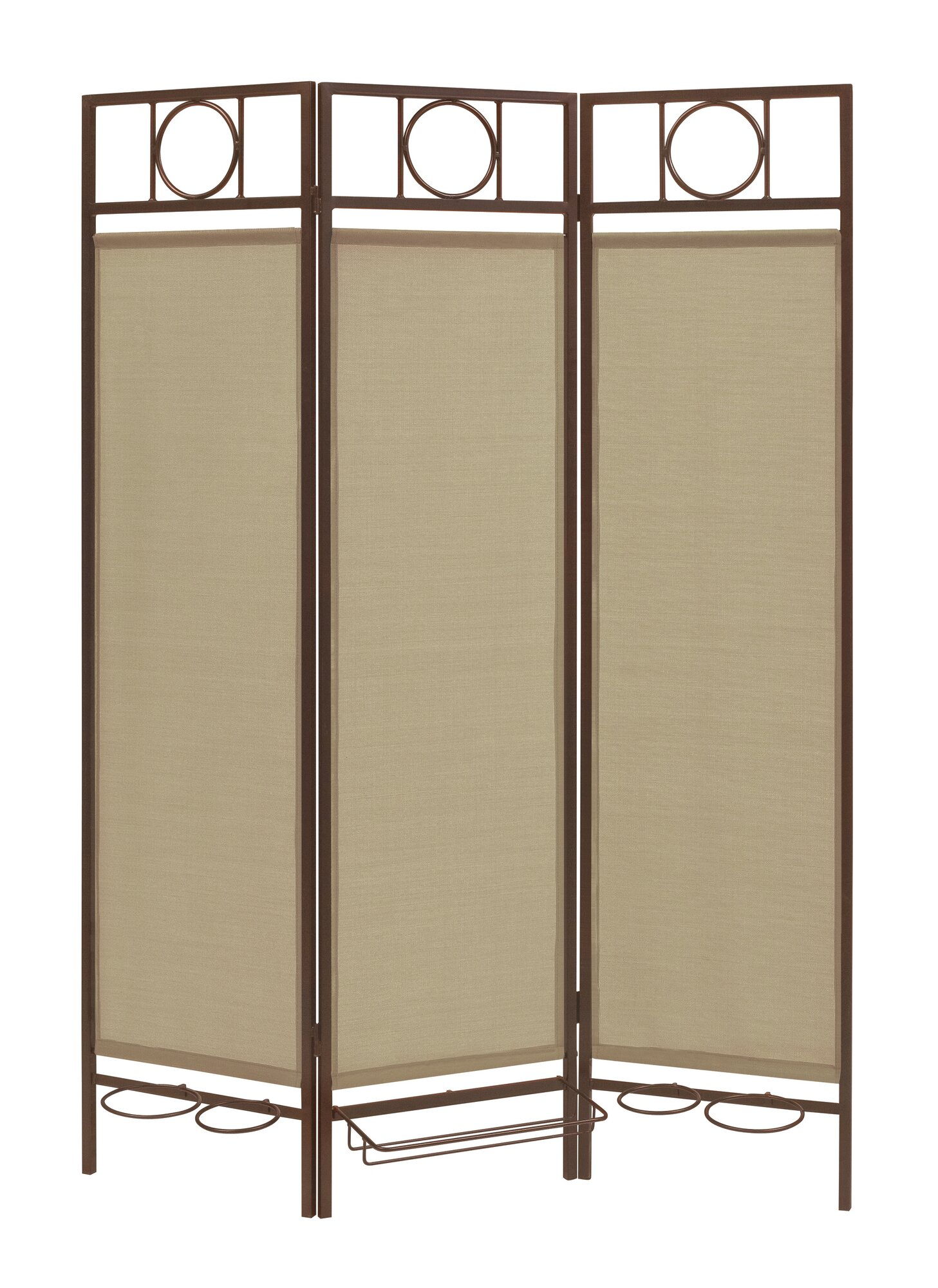 idm worldwide x 54 privacy screen in a box 3 panel room divider ebay. Black Bedroom Furniture Sets. Home Design Ideas