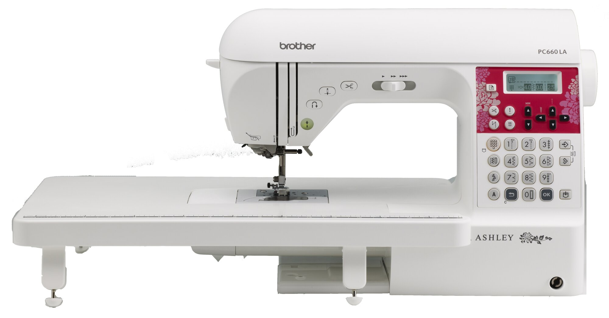 brother sewing laura ashley computerized sewing and quilting machine