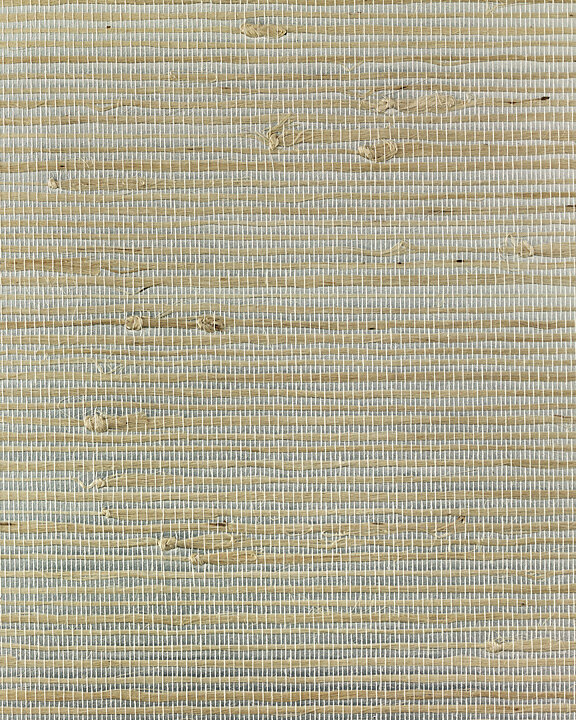 "White Grasscloth Wallpaper: Best Of Asia IV 3' X 24"" Ice White Jute Metallic"