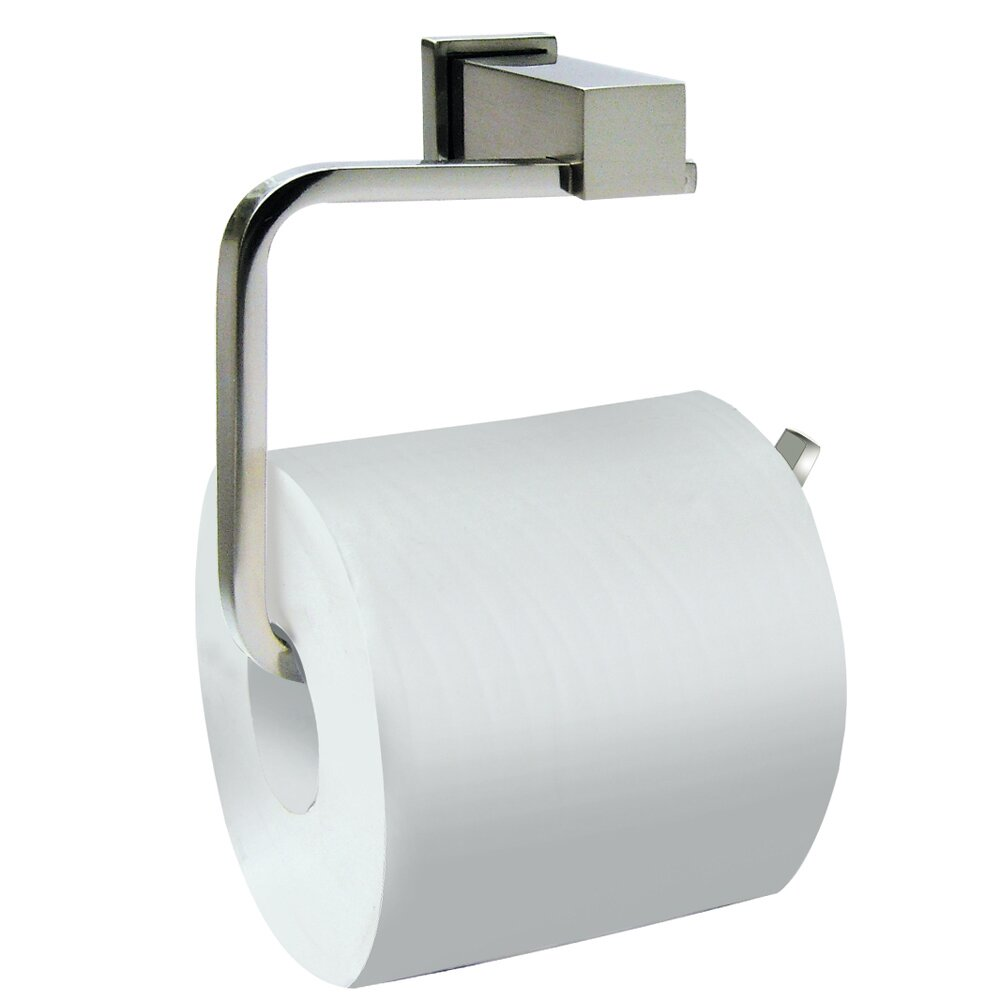 Dawn USA Wall Mounted Square Toilet Paper Holder Chrome EBay