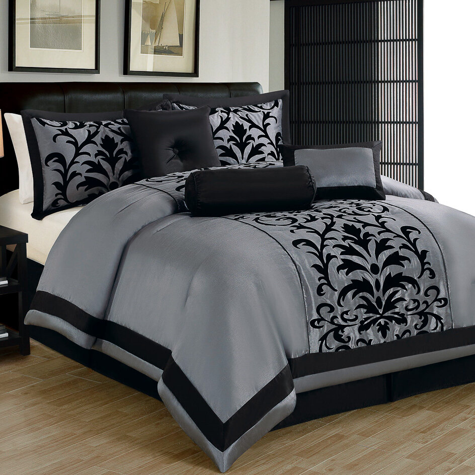 Madison home usa 7 piece comforter set ebay for Home piece