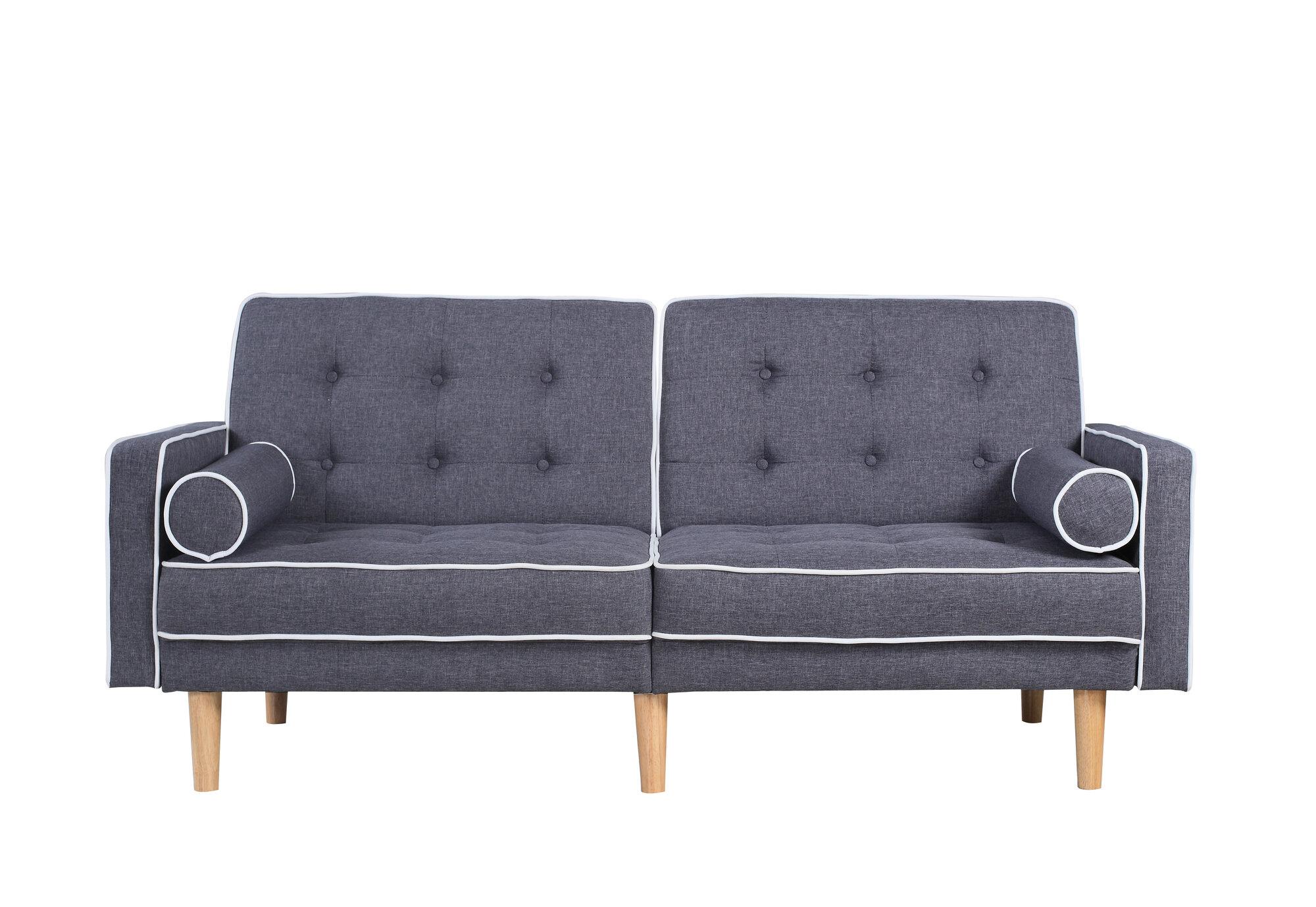 home usa mid century modern convertible sofa ebay