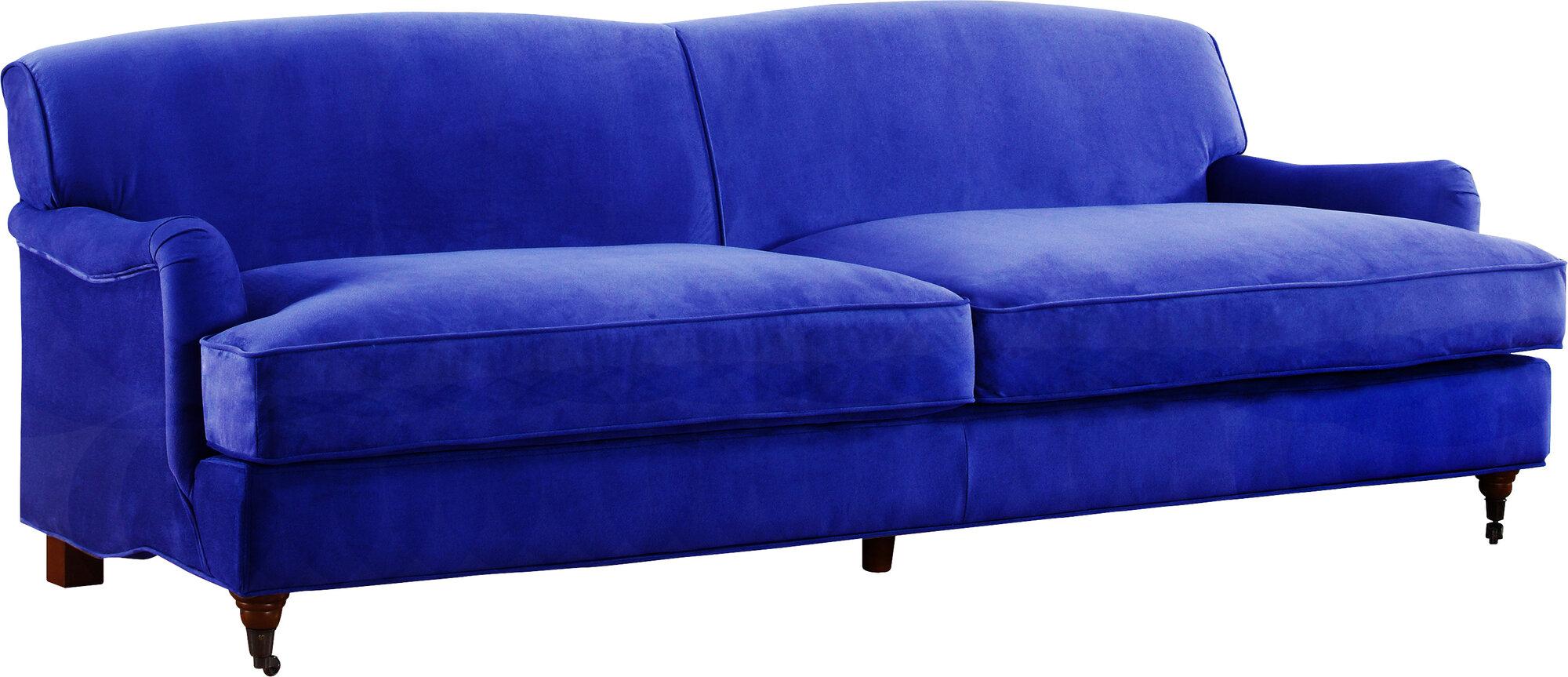madison home usa mid century modern large sofa ebay. Black Bedroom Furniture Sets. Home Design Ideas
