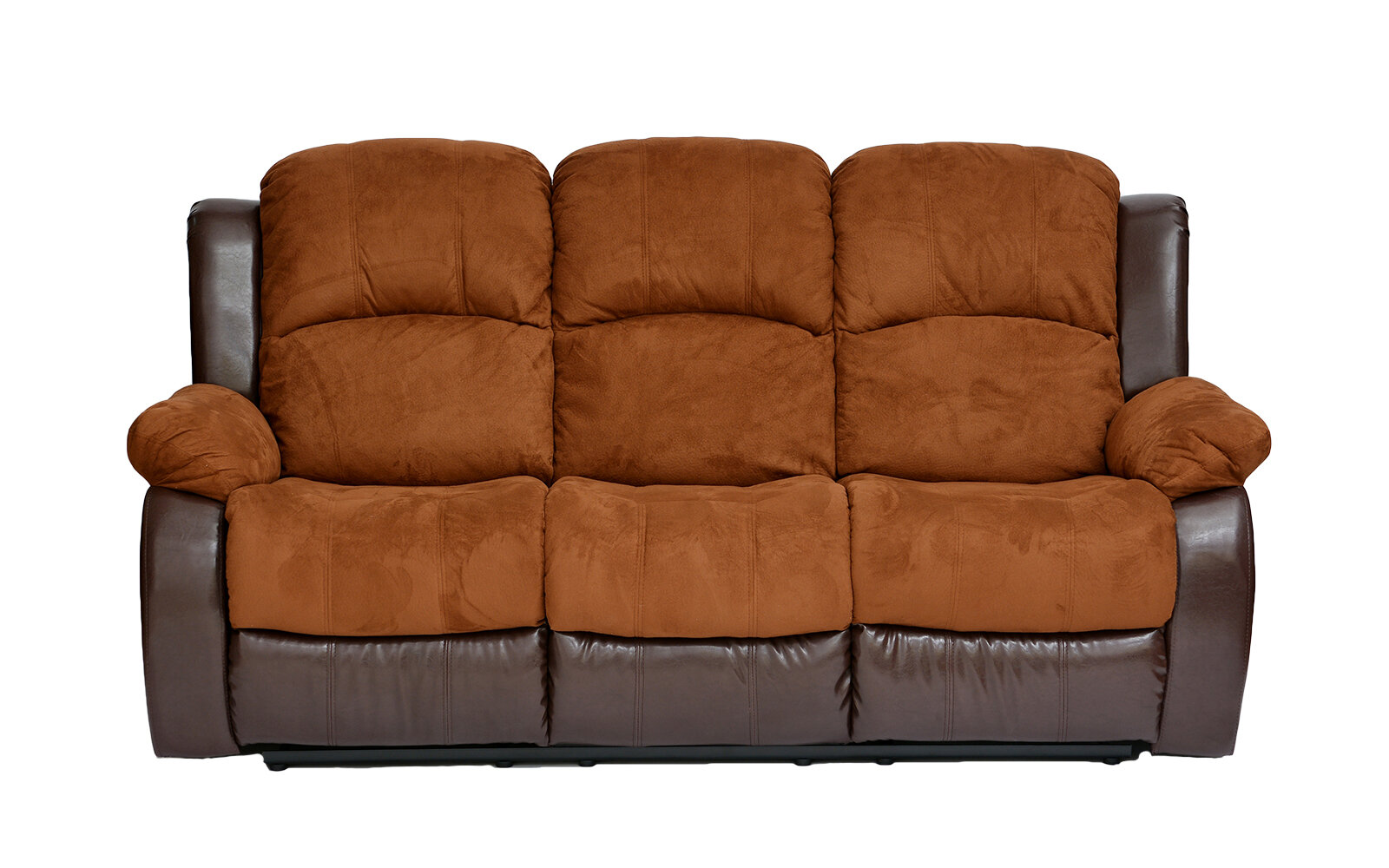 Madison Home Usa Traditional 2 Tone Recliner Reclining