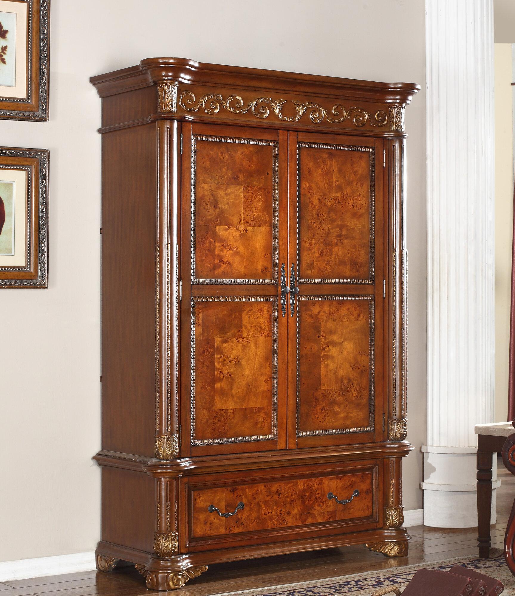 Meridian Furniture Usa Royal Armoire Ebay