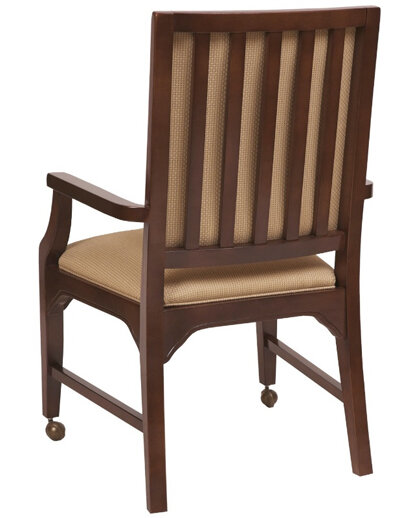 AC Furniture Arm Chair Finish: Wild Cherry, Color: Onyx