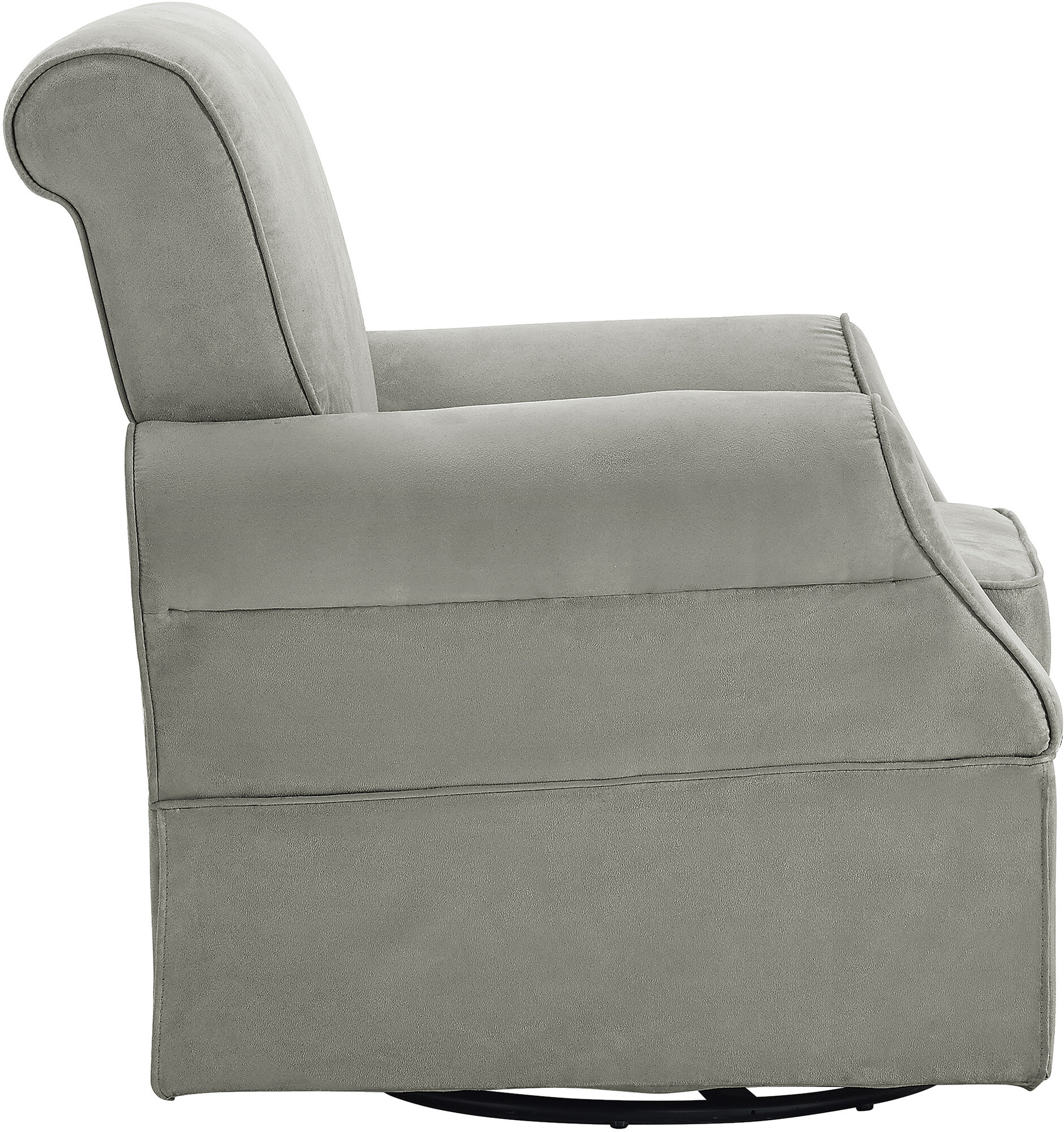 baby relax baby relax kelcie swivel glider chair and ottoman ebay. Black Bedroom Furniture Sets. Home Design Ideas