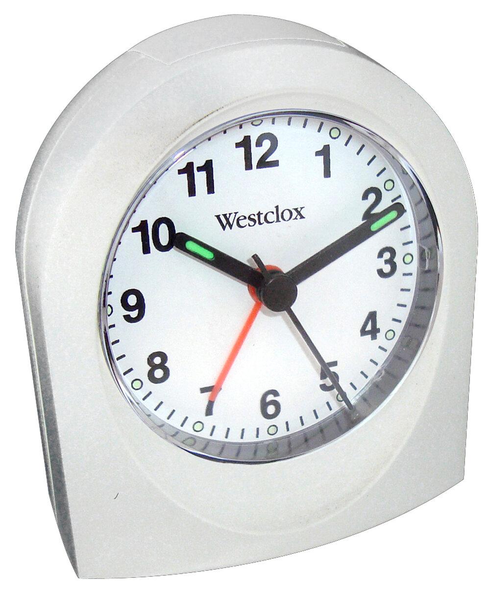 Westclox Clocks Bedside Analog Alarm Clock