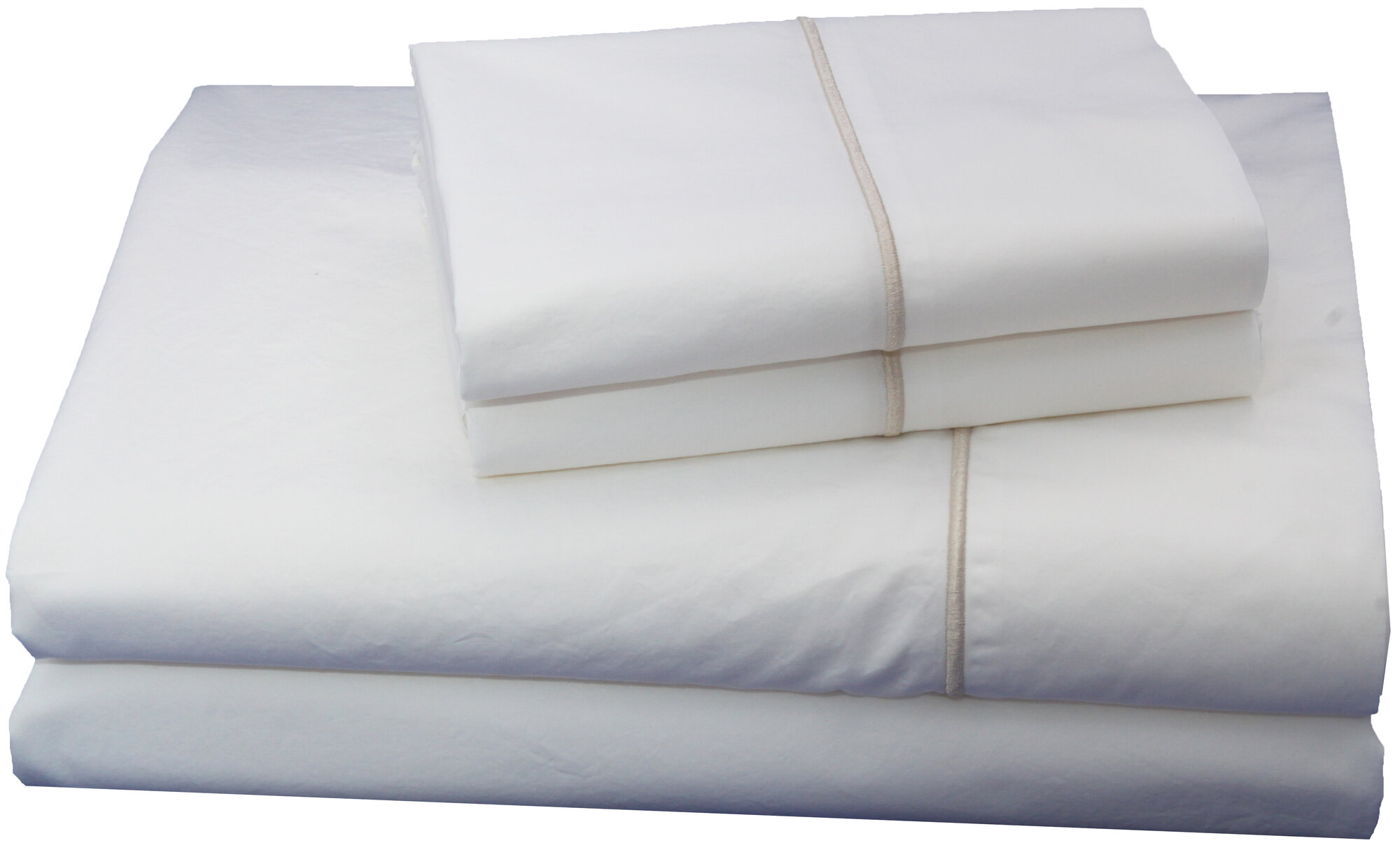 Embroidered Luxurious Long Staple 100 Cotton Percale