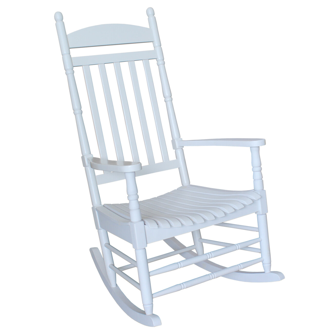 Details about International Concepts Solid Wood Rocking Chair