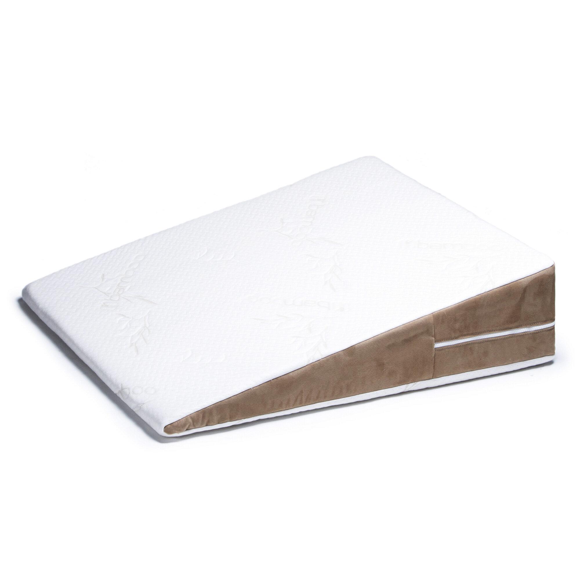 avana avana bed wedge memory foam pillow ebay