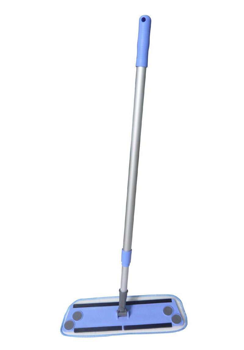 Zwipes Dry Wet Microfiber Cleaning Flat Mop With Pole Ebay