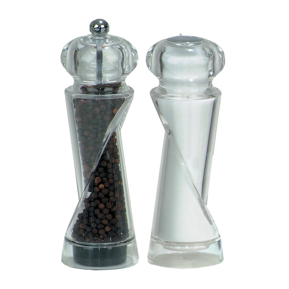 chef specialties ellipse pepper mill and salt shaker set. Black Bedroom Furniture Sets. Home Design Ideas