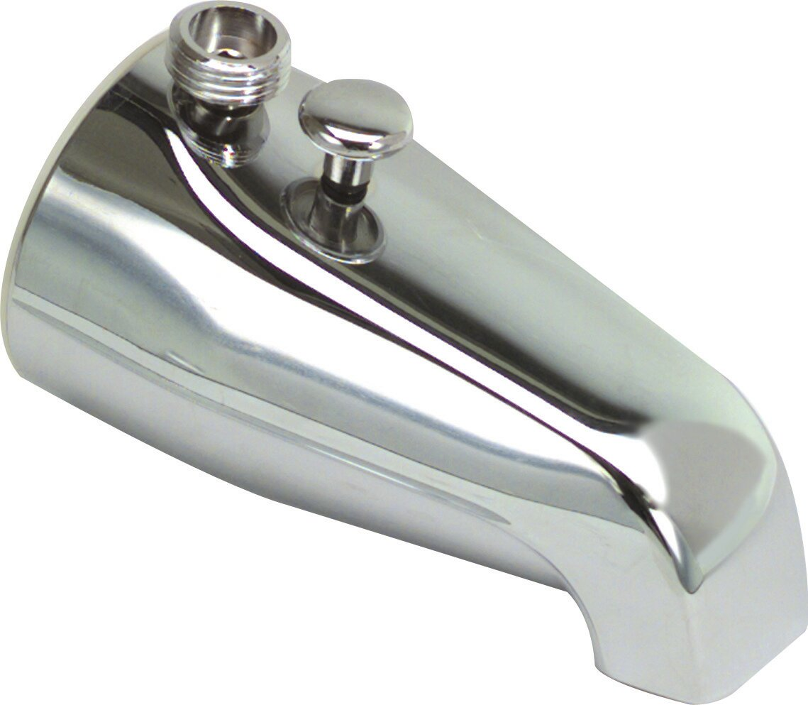 Wall Mounted Bathtub Spout Trim With Diverter And Shower Adapter POPL1025 EBay