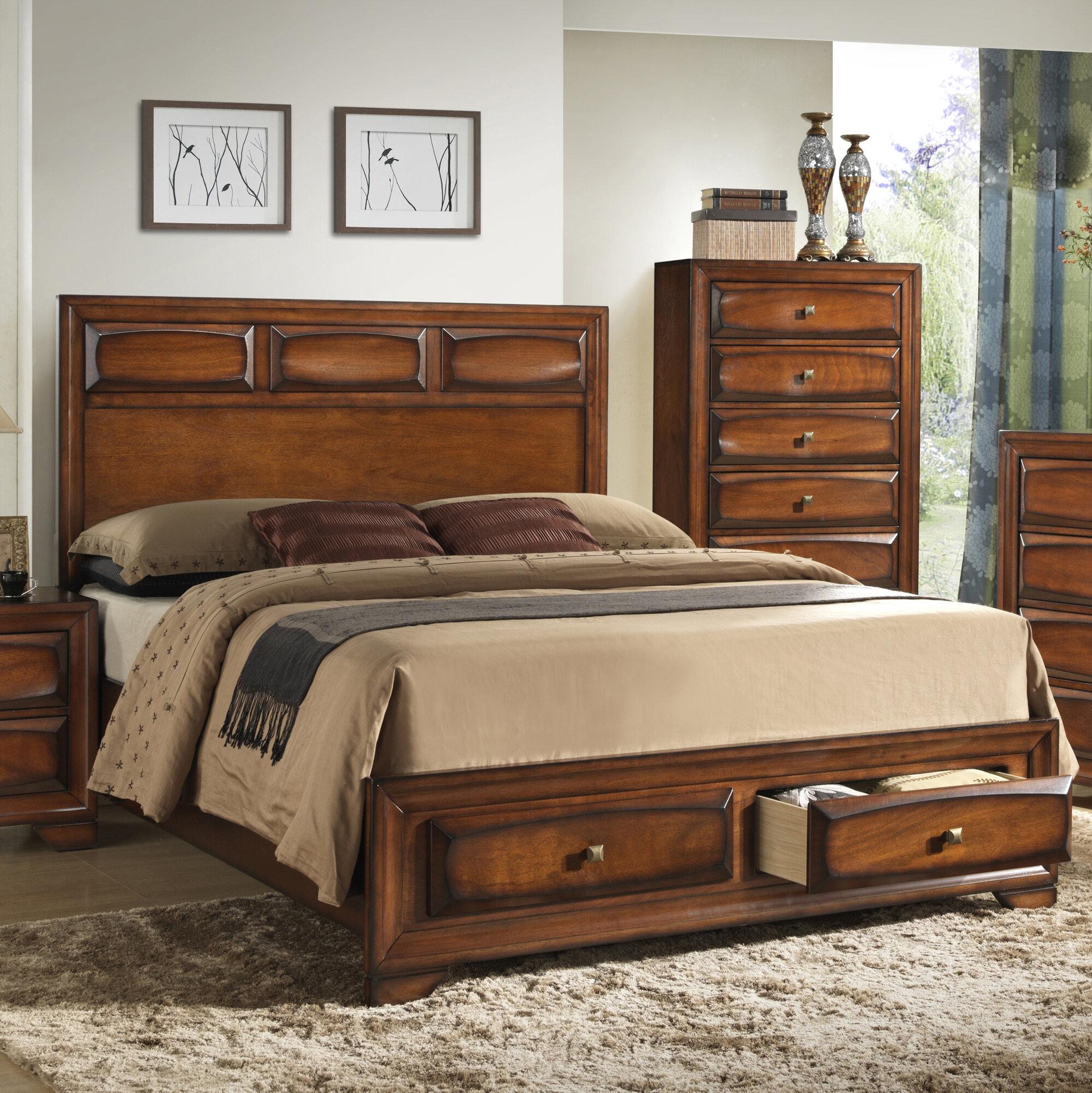 roundhill furniture oakland platform bedroom set ebay