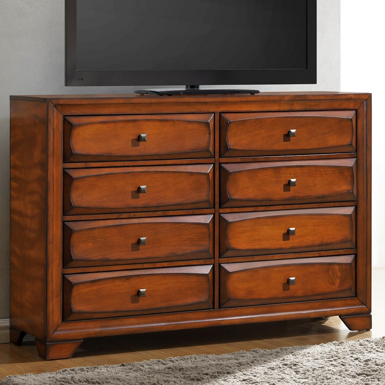 Furniture Store Oakland: Roundhill Furniture Oakland 8 Drawer Dresser