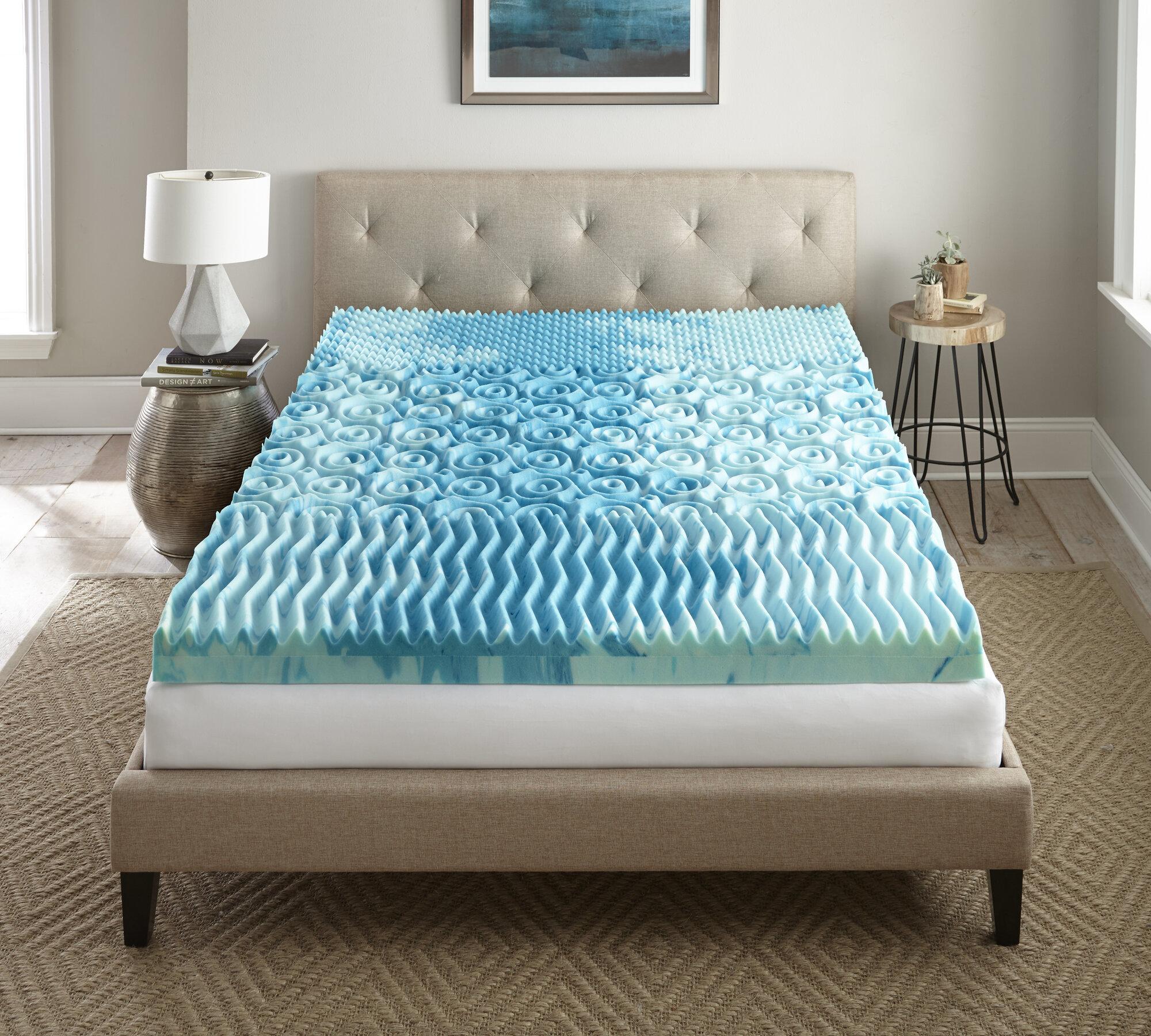 lane furniture sleep cool gellux 4 memory foam mattress. Black Bedroom Furniture Sets. Home Design Ideas