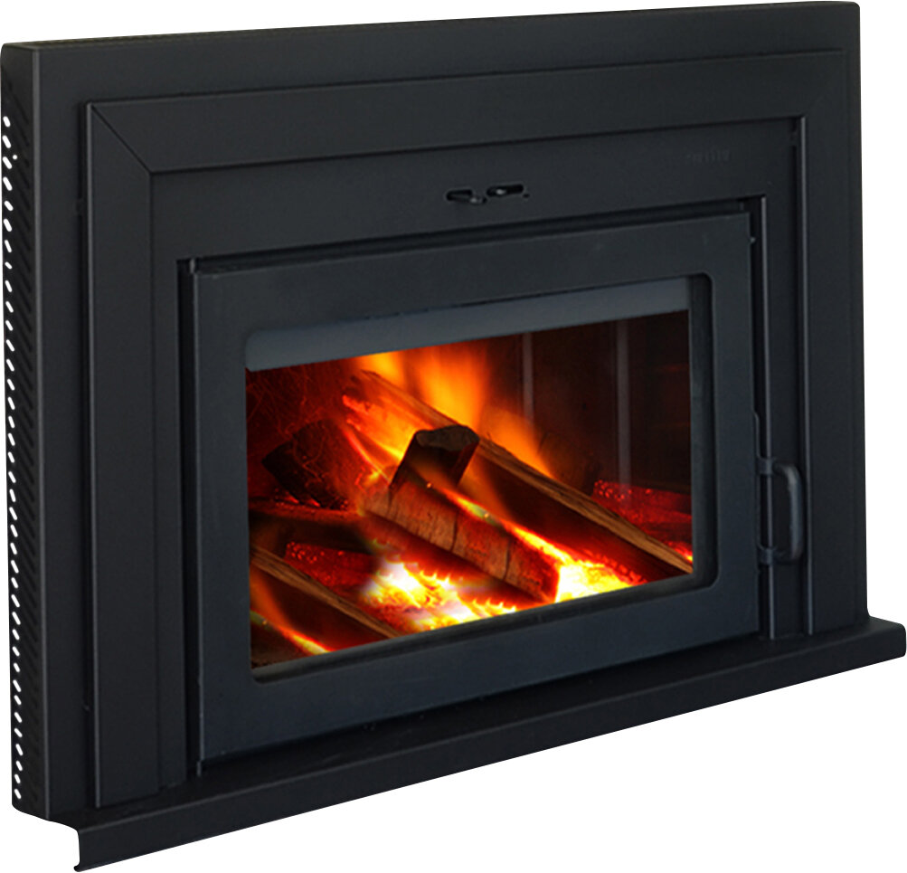 Supreme Fireplaces Inc Fusion Wall Mount Wood Burning