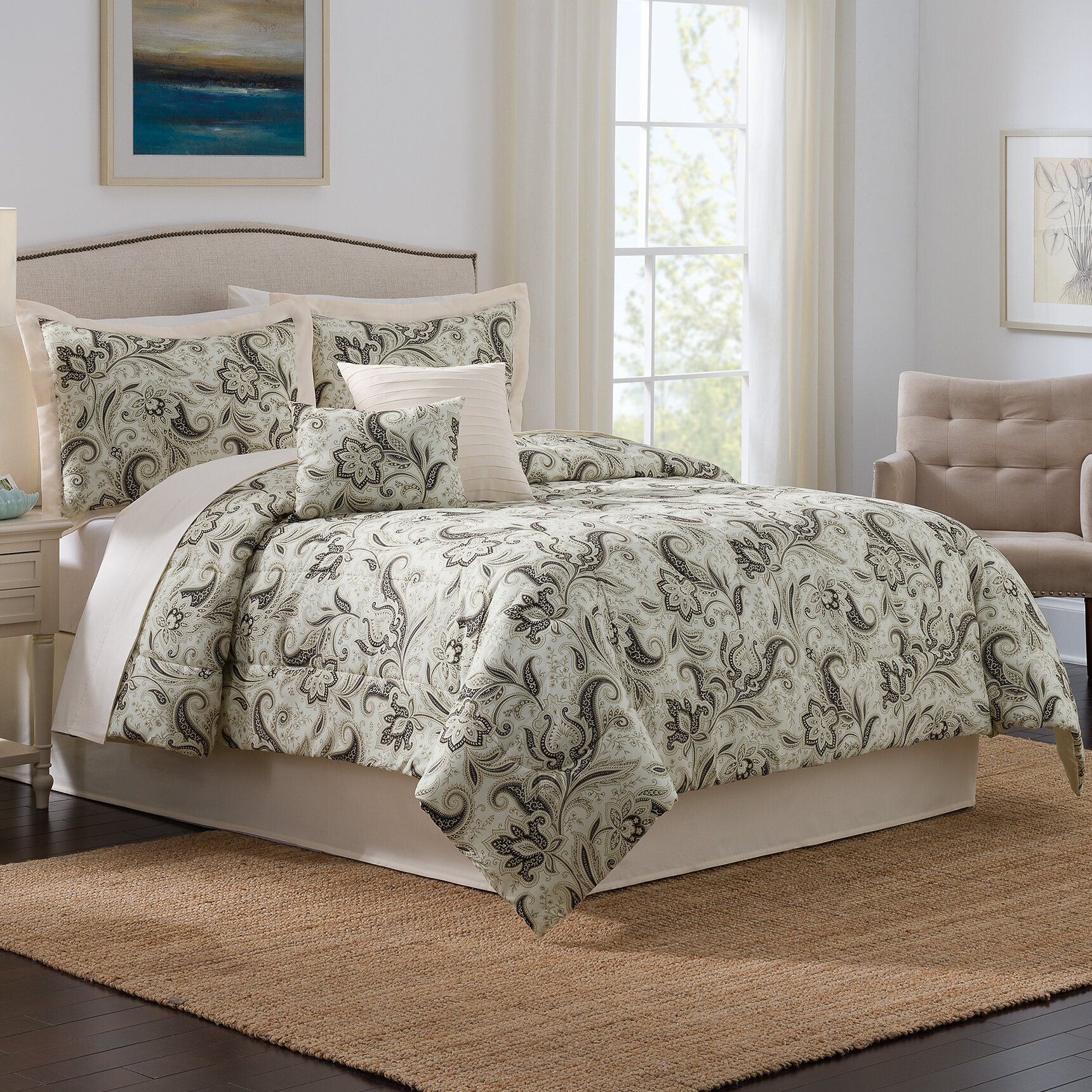 Traditions By Waverly Rustic Retreat 6 Piece Comforter Set