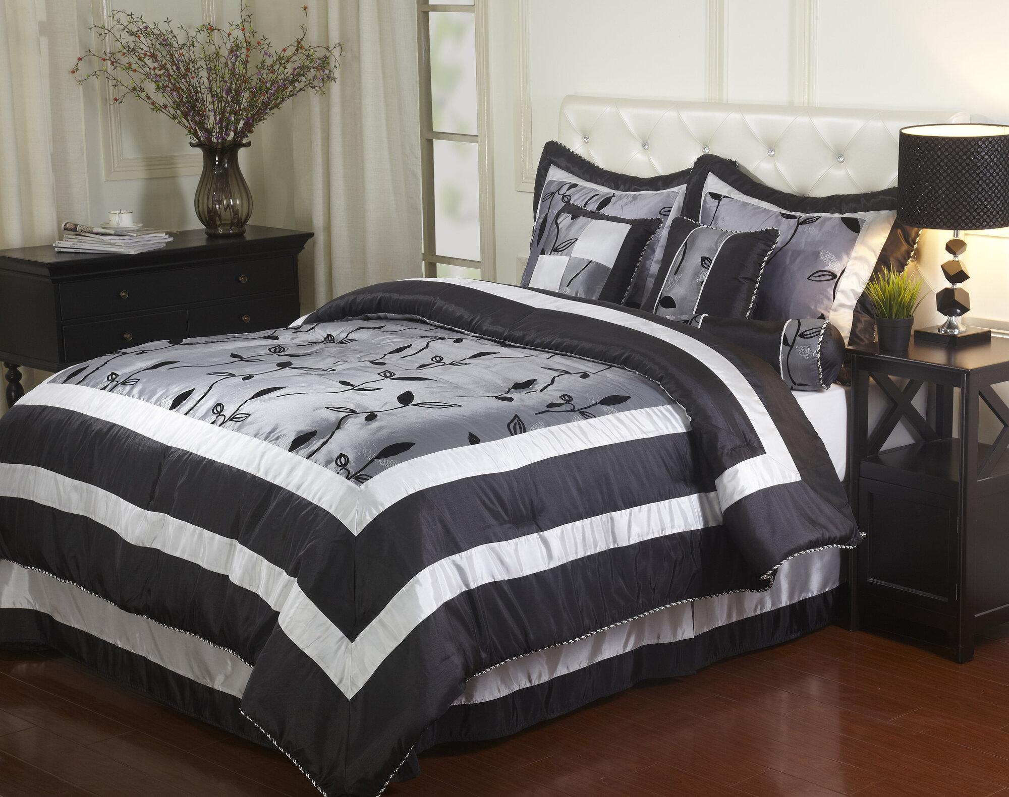 Nanshing America Inc Pastora 7 Piece Comforter Set Ebay