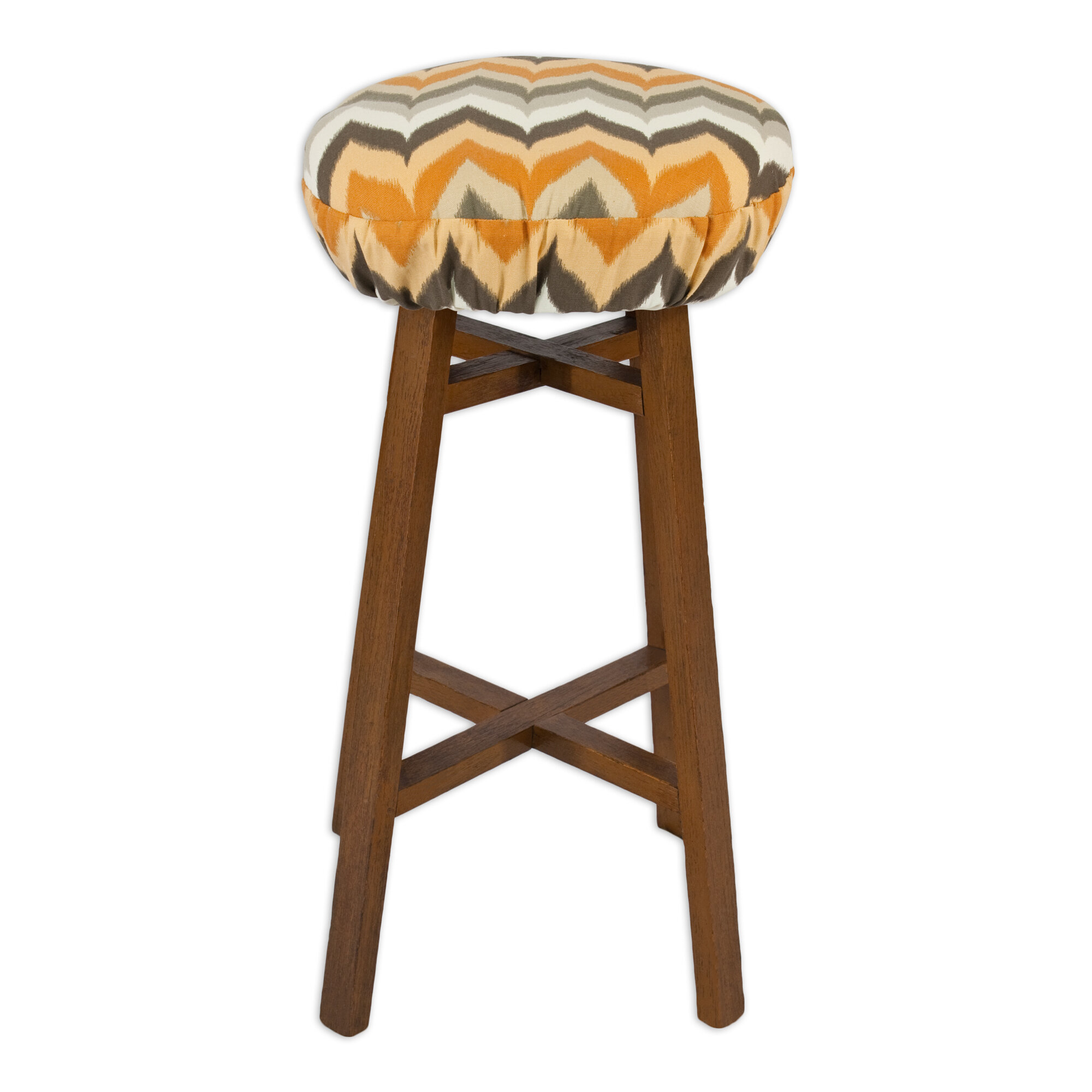 Brite Ideas Living Gant Paramount Round Foam Bar Stool Cushion : 1 from www.ebay.com size 2000 x 2000 jpeg 271kB
