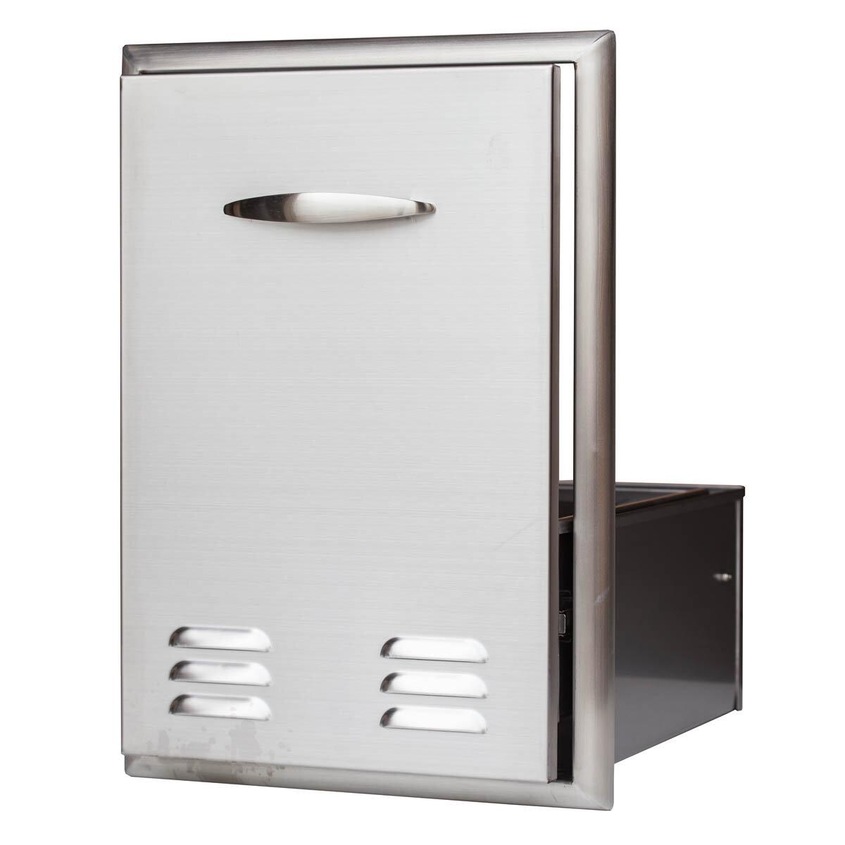 barbeques galore tank and trash can side drawer ebay. Black Bedroom Furniture Sets. Home Design Ideas
