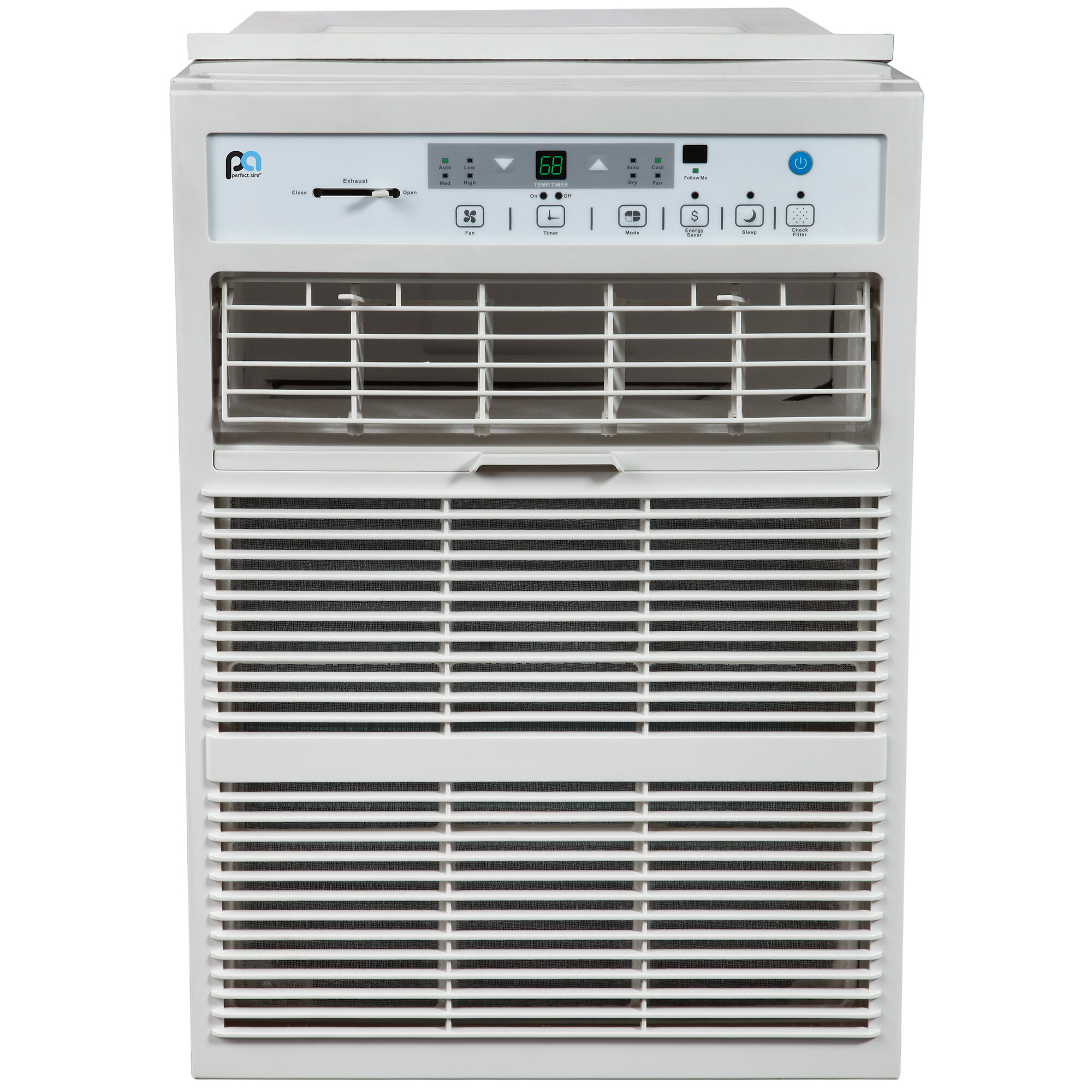 Perfect aire 10 000 btu energy star casement air for 120v window air conditioner