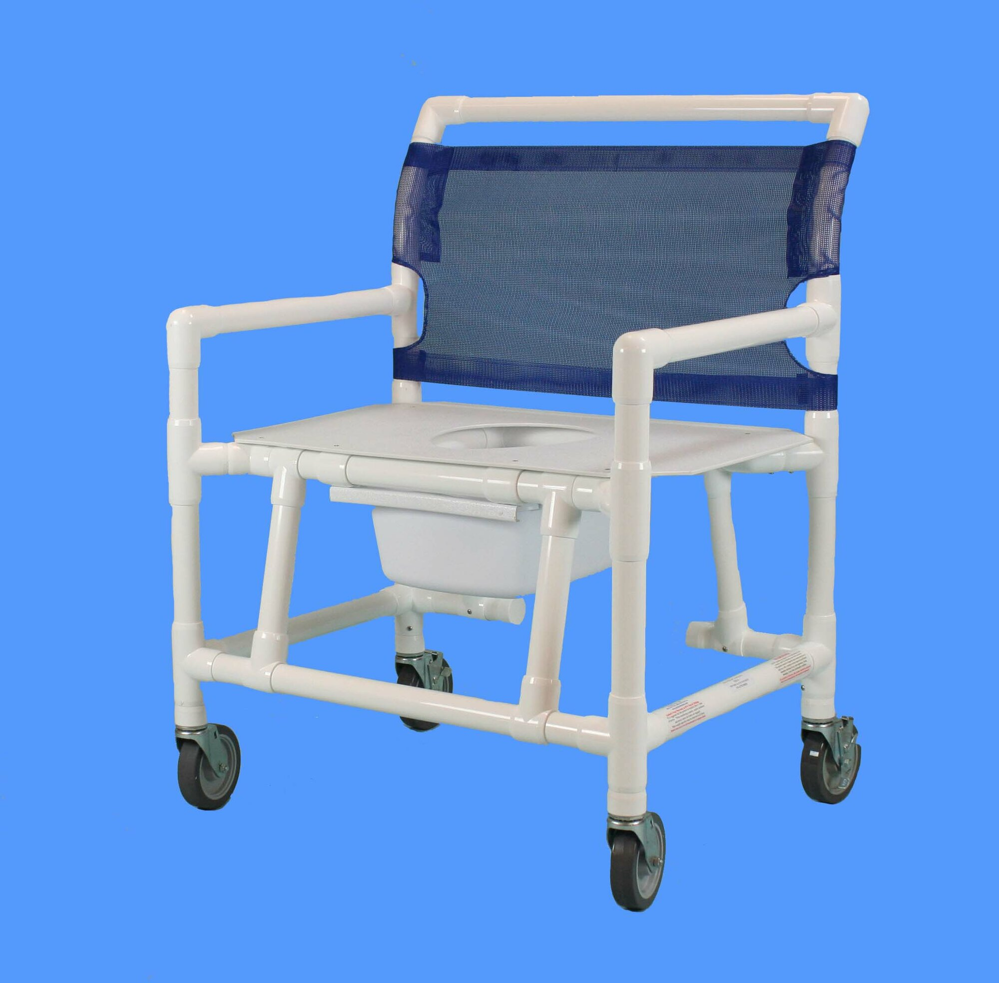 Care Products Inc Bariatric Commode Shower Chair