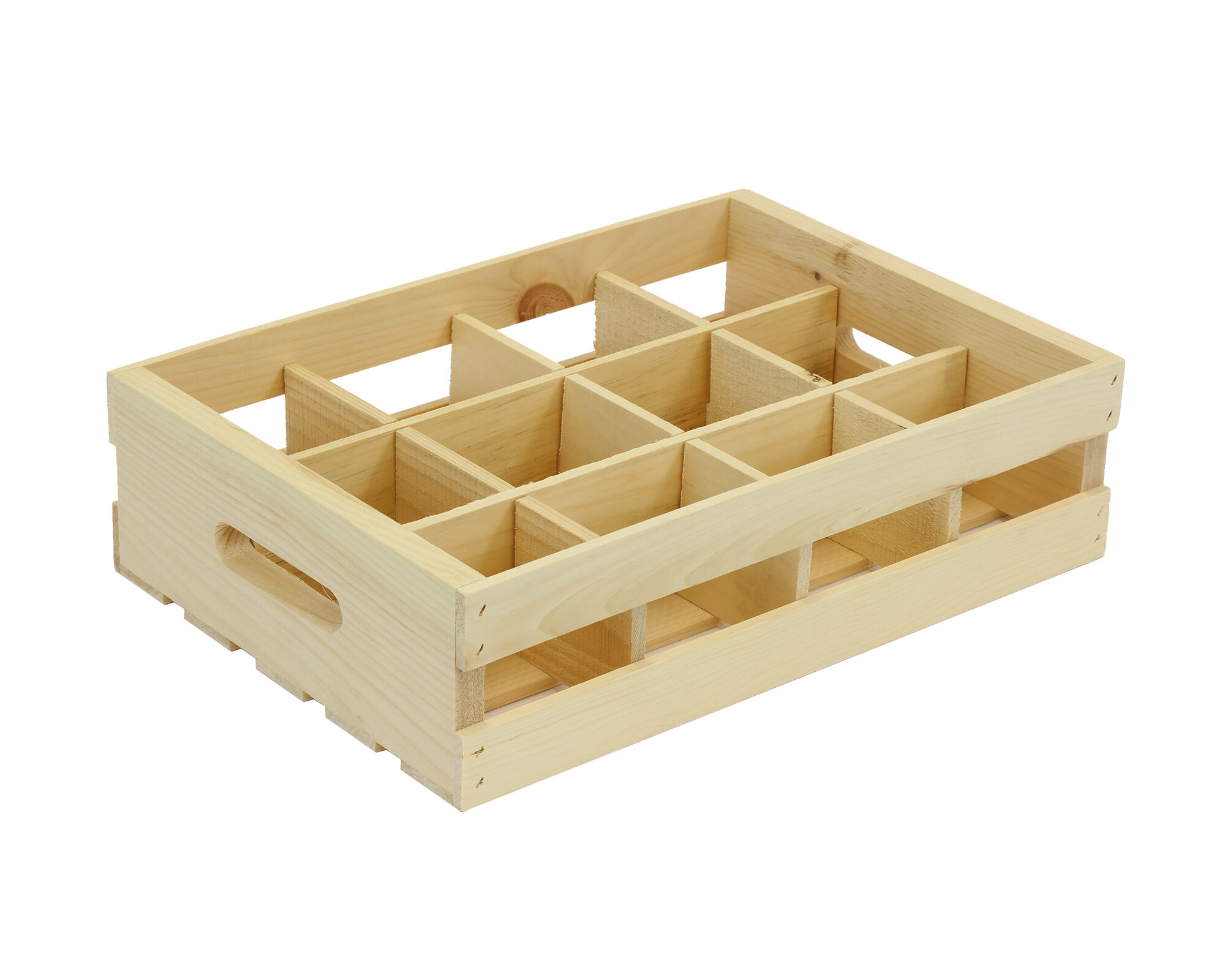 Crates pallet 12 grid divided insert for Pallet dog crate