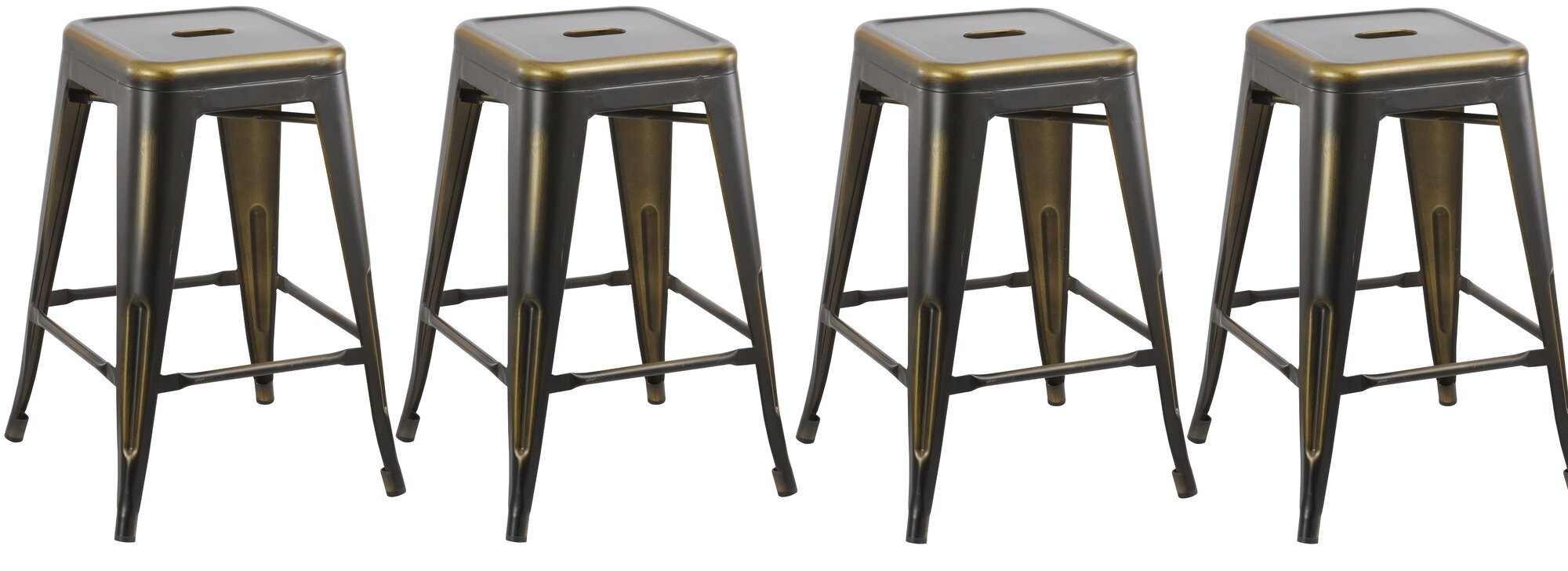 Famis Corp 24 Quot Stackable Bar Stool Set Of 4 Ebay