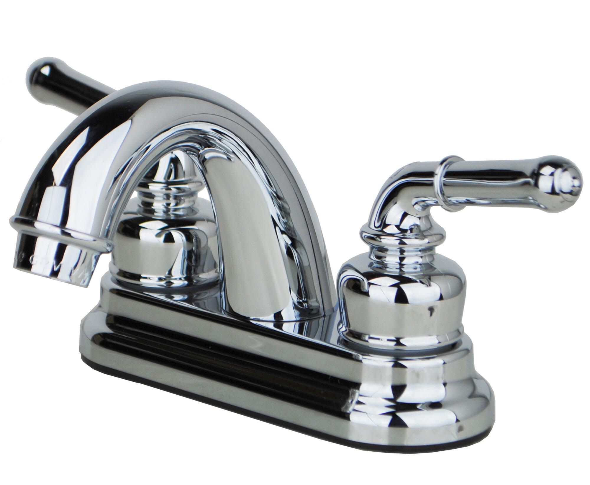 builders shoppe rv mobile home centerset lever handle bathroom faucet ebay. Black Bedroom Furniture Sets. Home Design Ideas