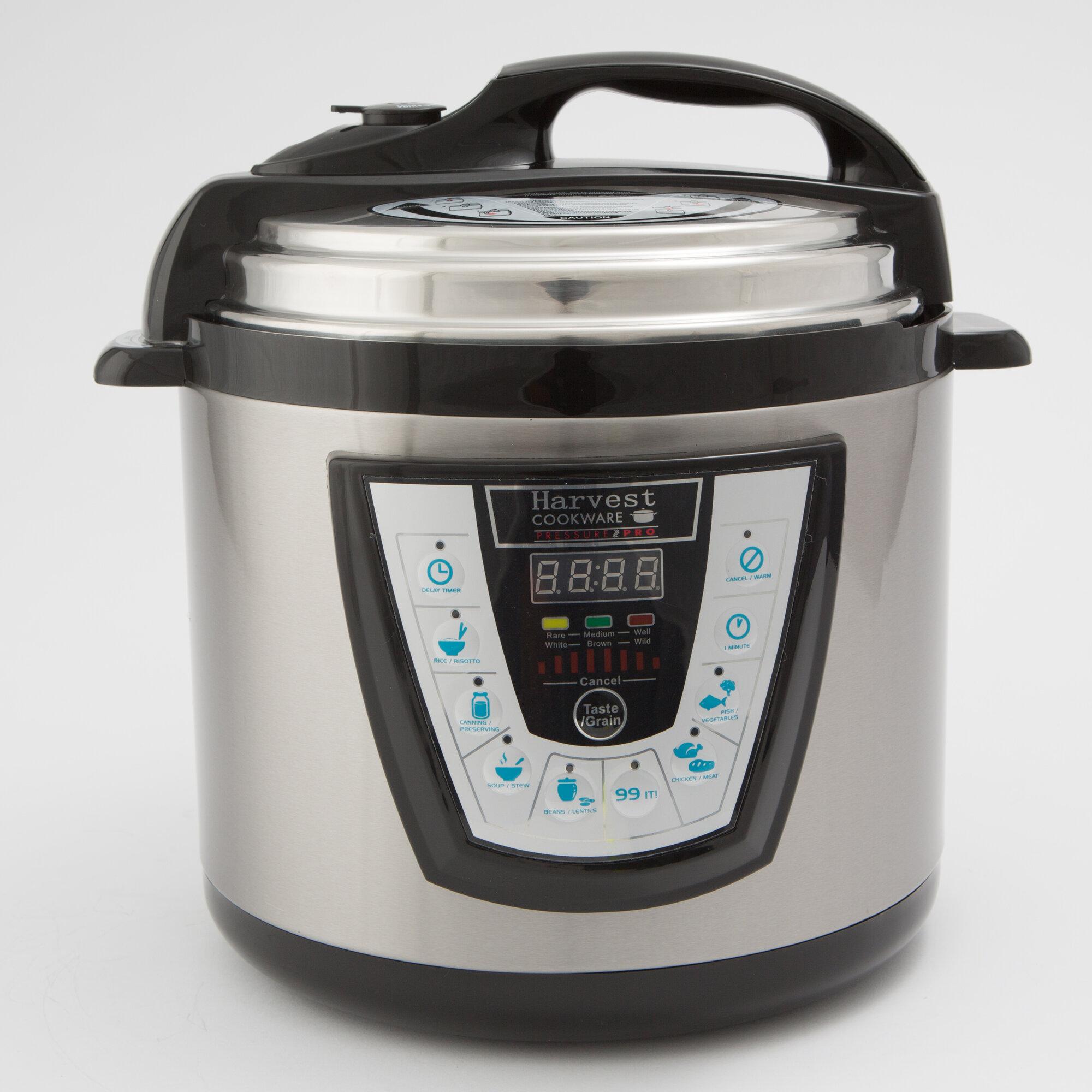 Pressure Pro Cooker: Harvest Direct Pressure Pro Pressure Cooker