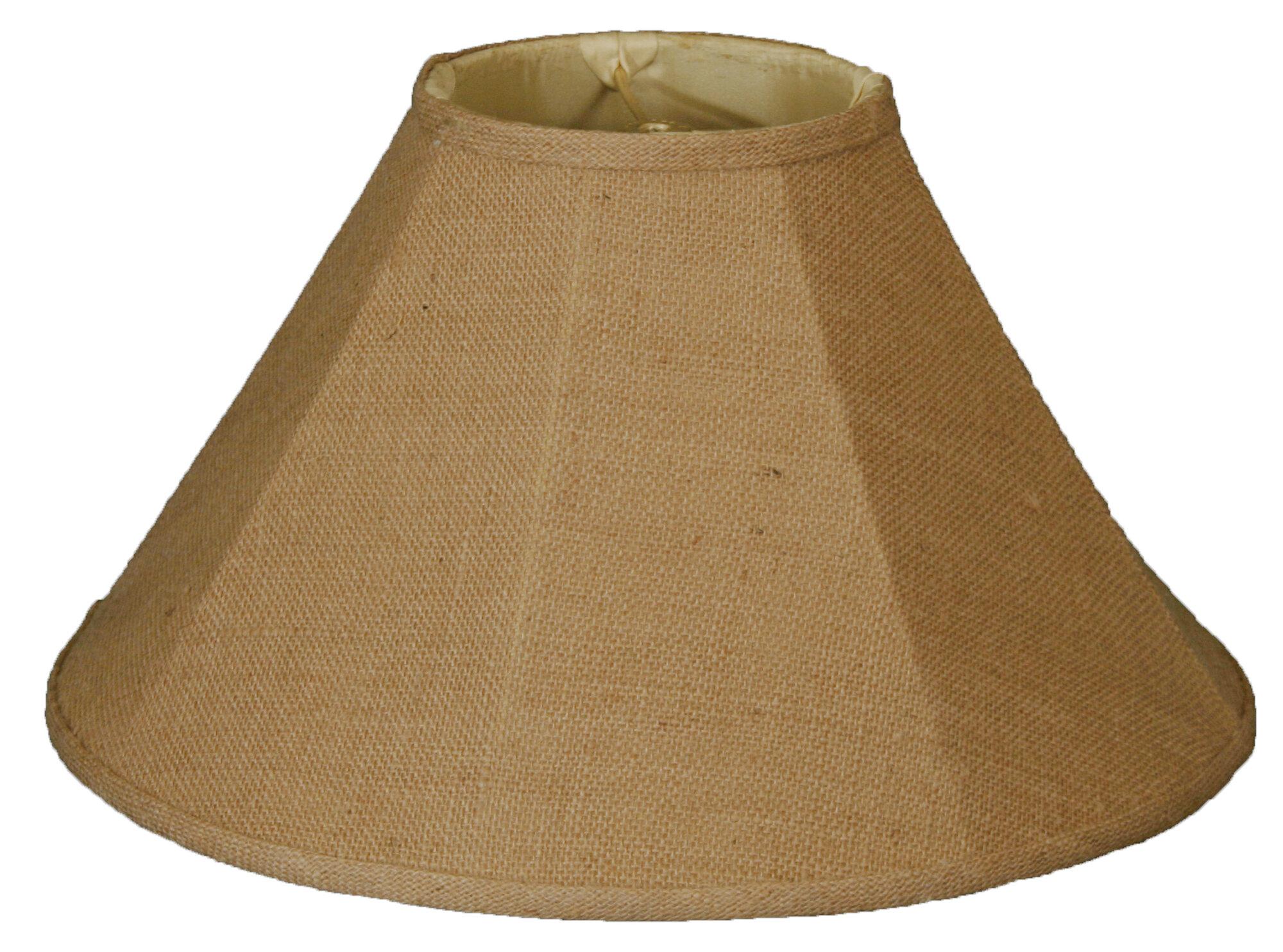 Burlap Lamp Shades : Royal designs timeless quot burlap empire lamp shade rdes