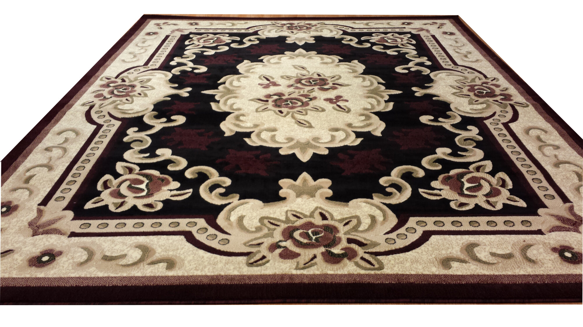 Rug Tycoon Hand Carved Red Beige Area Rug Ebay