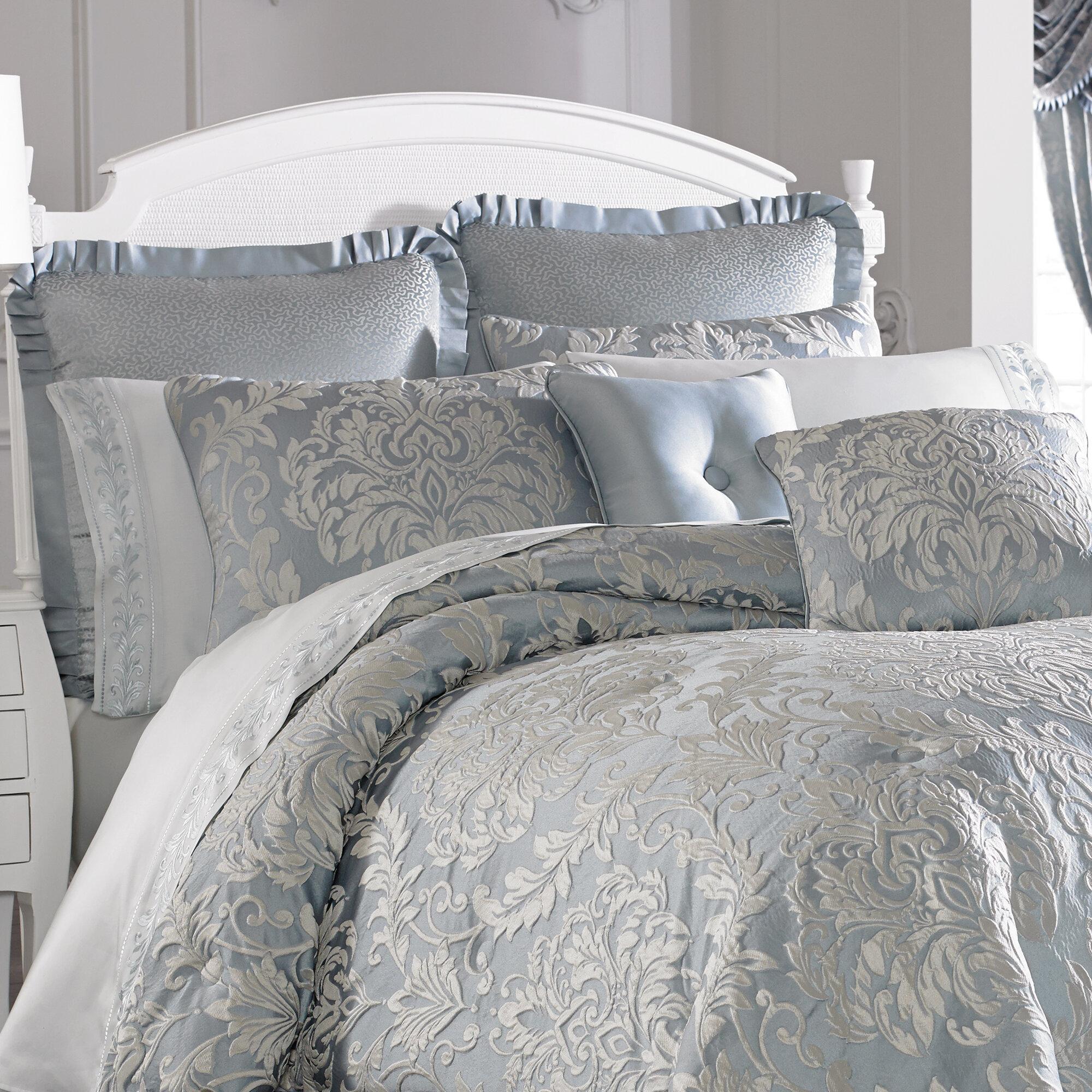 Five Queens Court Faith 4 Piece Comforter Set Ebay