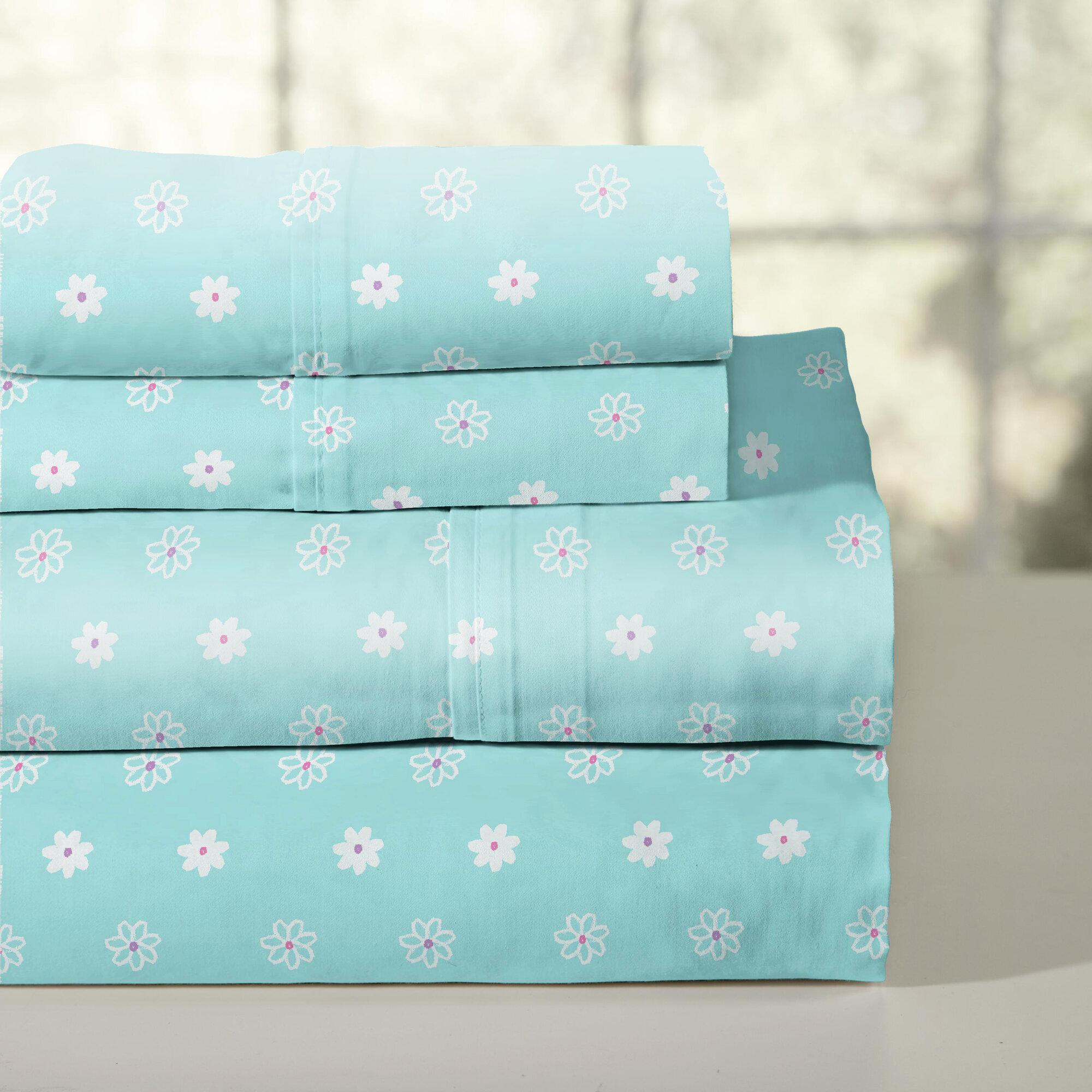 lullaby bedding 200 thread count 100 cotton sheet set ebay. Black Bedroom Furniture Sets. Home Design Ideas
